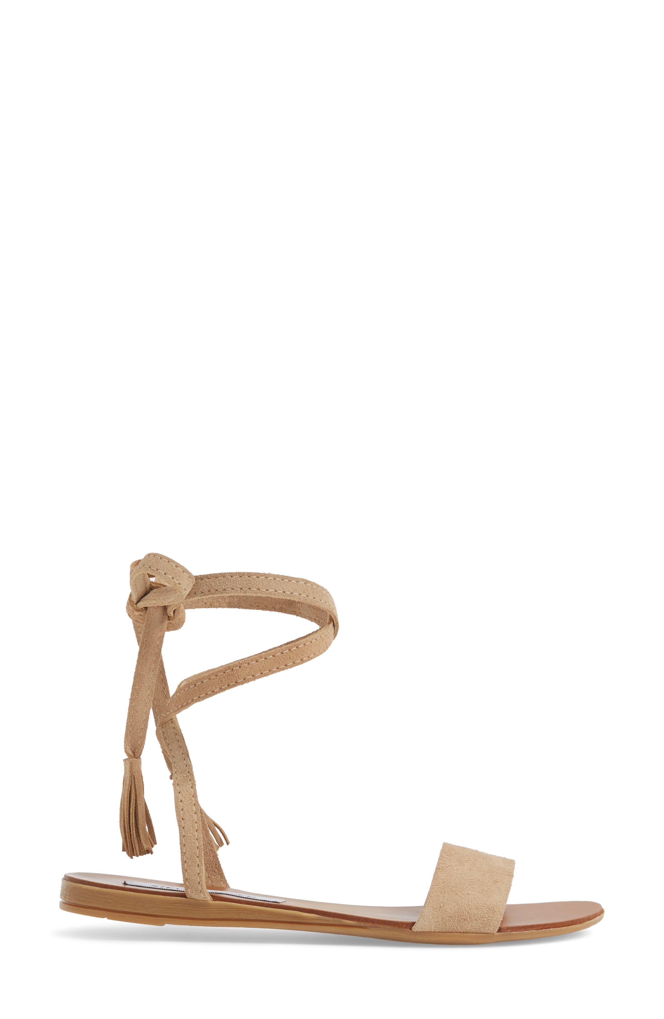 Alternate Image 3  - Steve Madden Kapri Wraparound Lace Sandal (Women)
