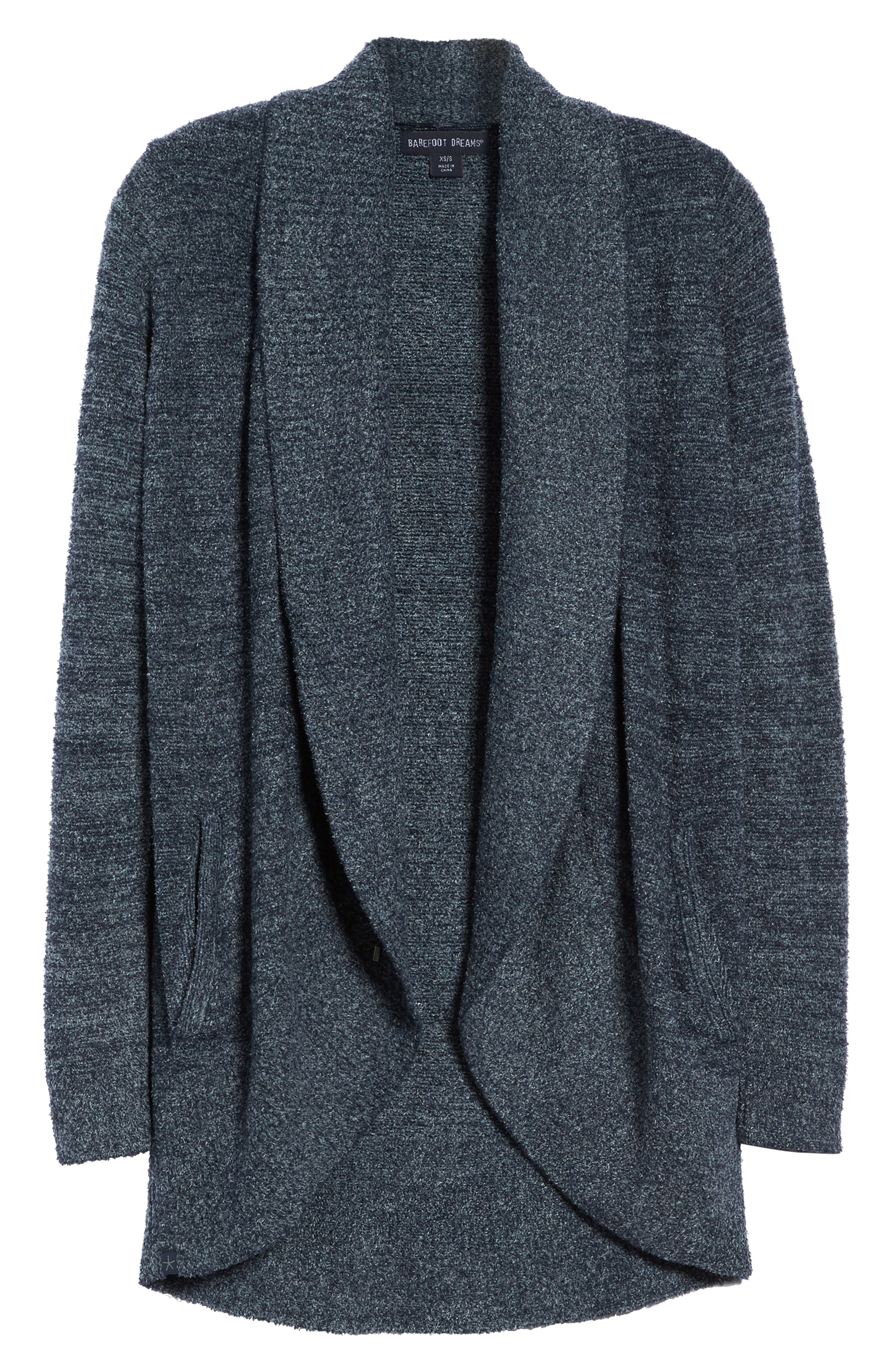 Alternate Image 4  - Barefoot Dreams® CozyChic Lite® Circle Cardigan