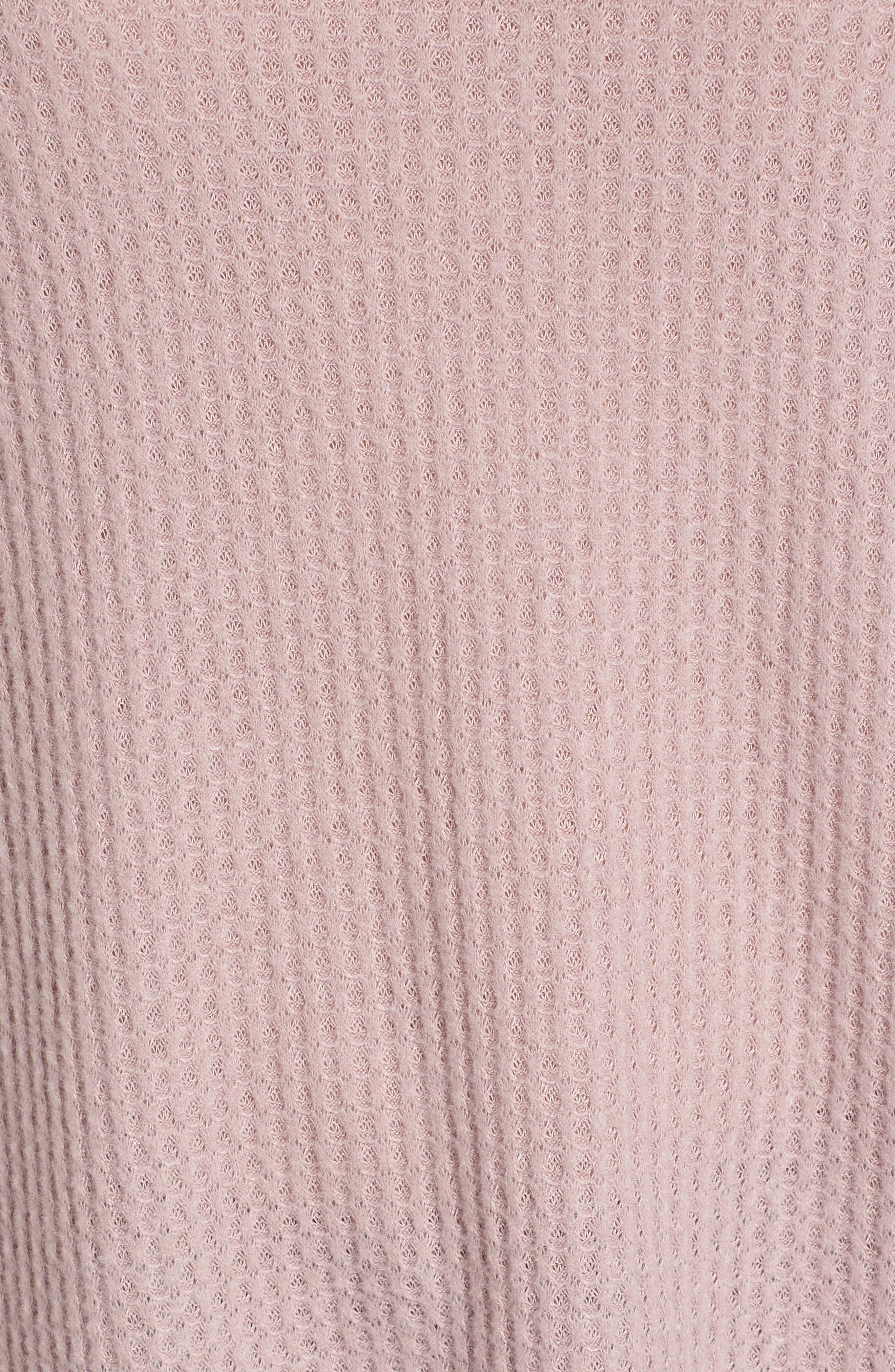 Alternate Image 5  - Socialite Cozy Thermal Top
