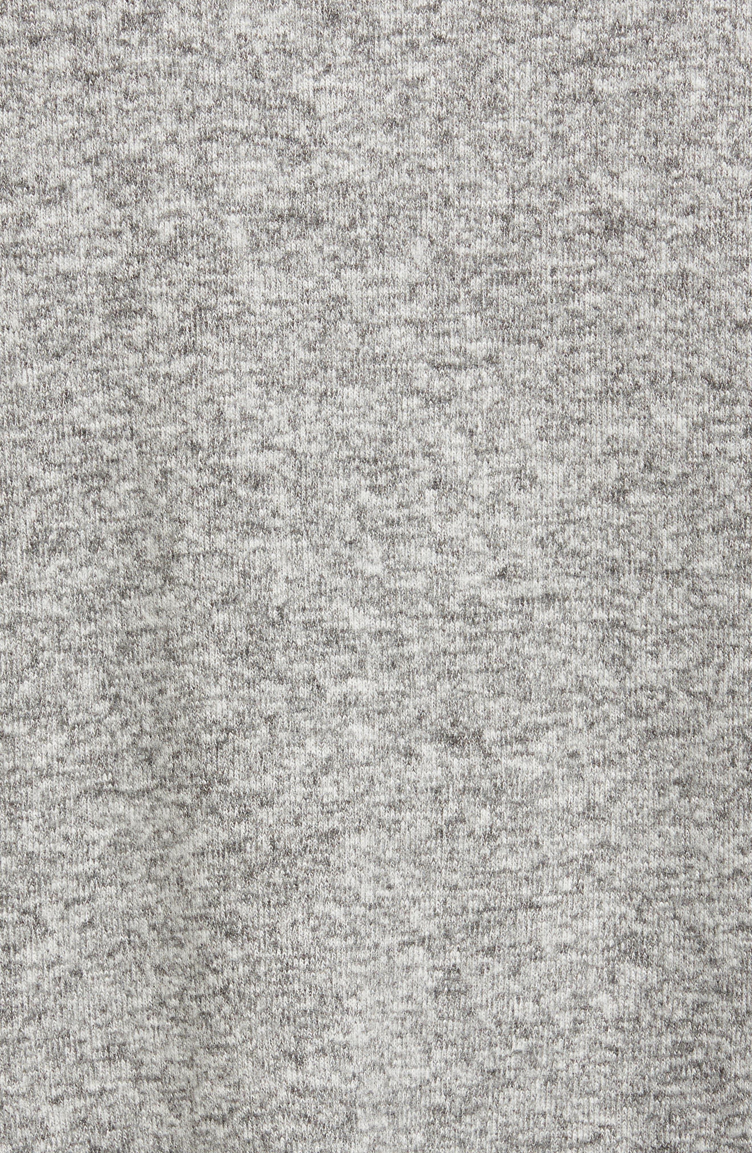 Alternate Image 5  - Gibson Bell Sleeve Cozy Fleece Pullover (Regular & Petite)