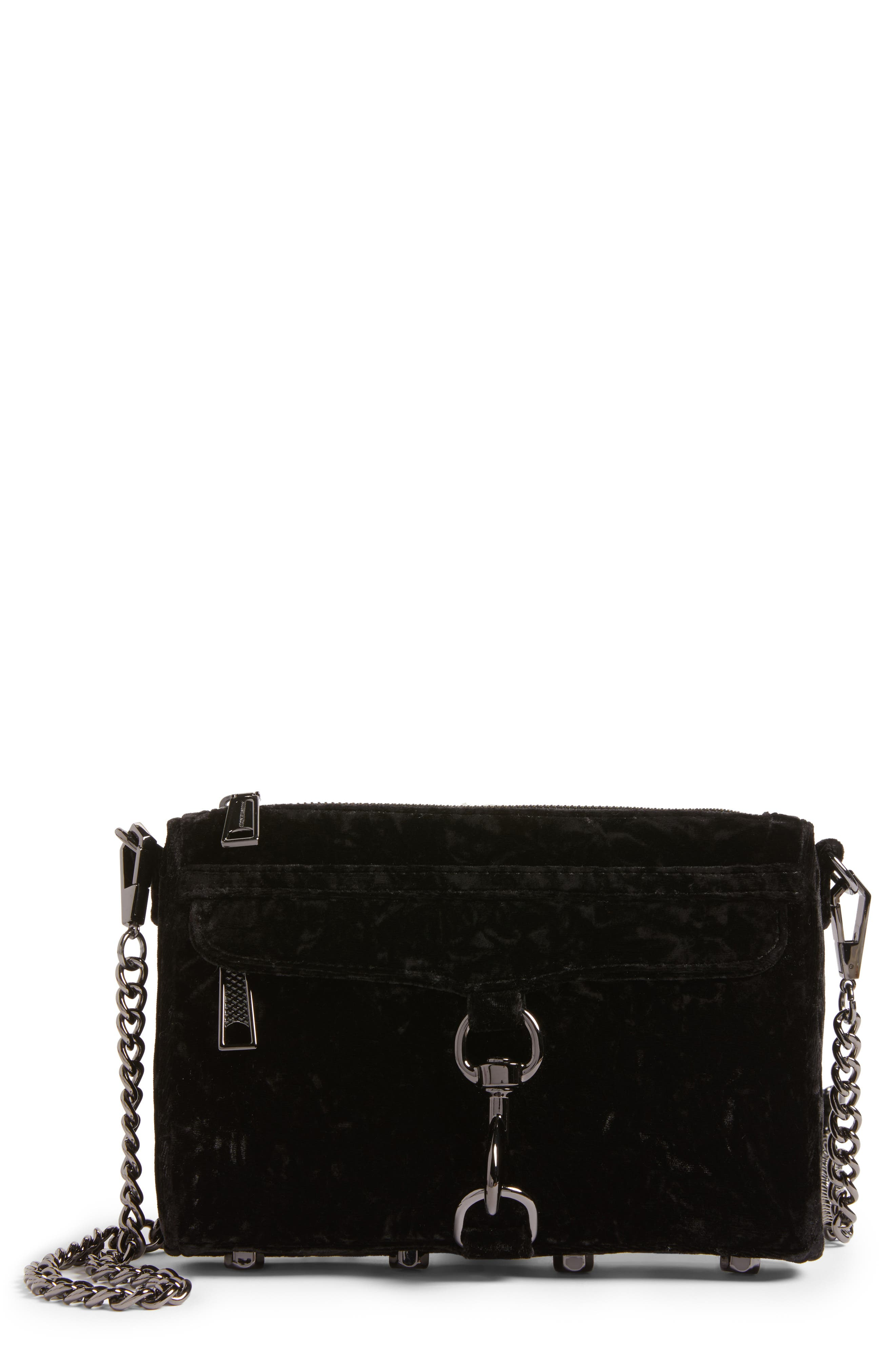 Rebecca Minkoff Mini MAC Velvet Convertible Crossbody Bag (Nordstrom Exclusive)