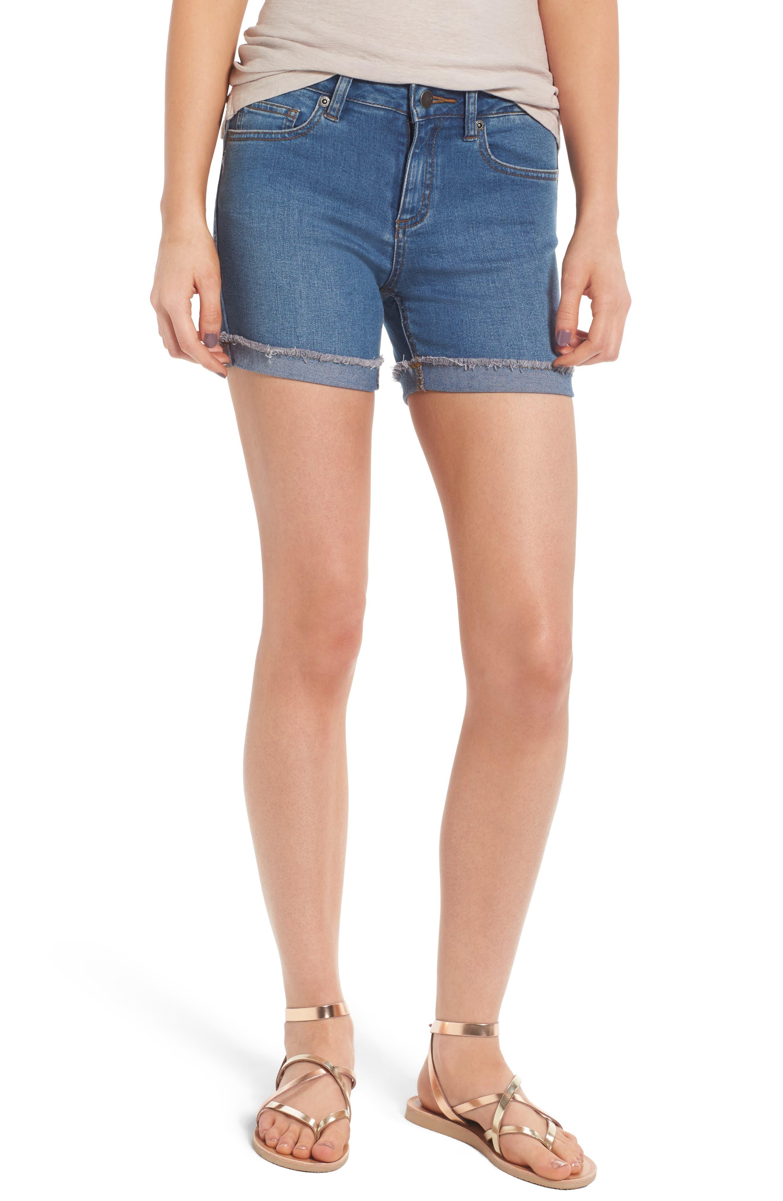 RVCA Front Row Denim Shorts (Classic Indigo)