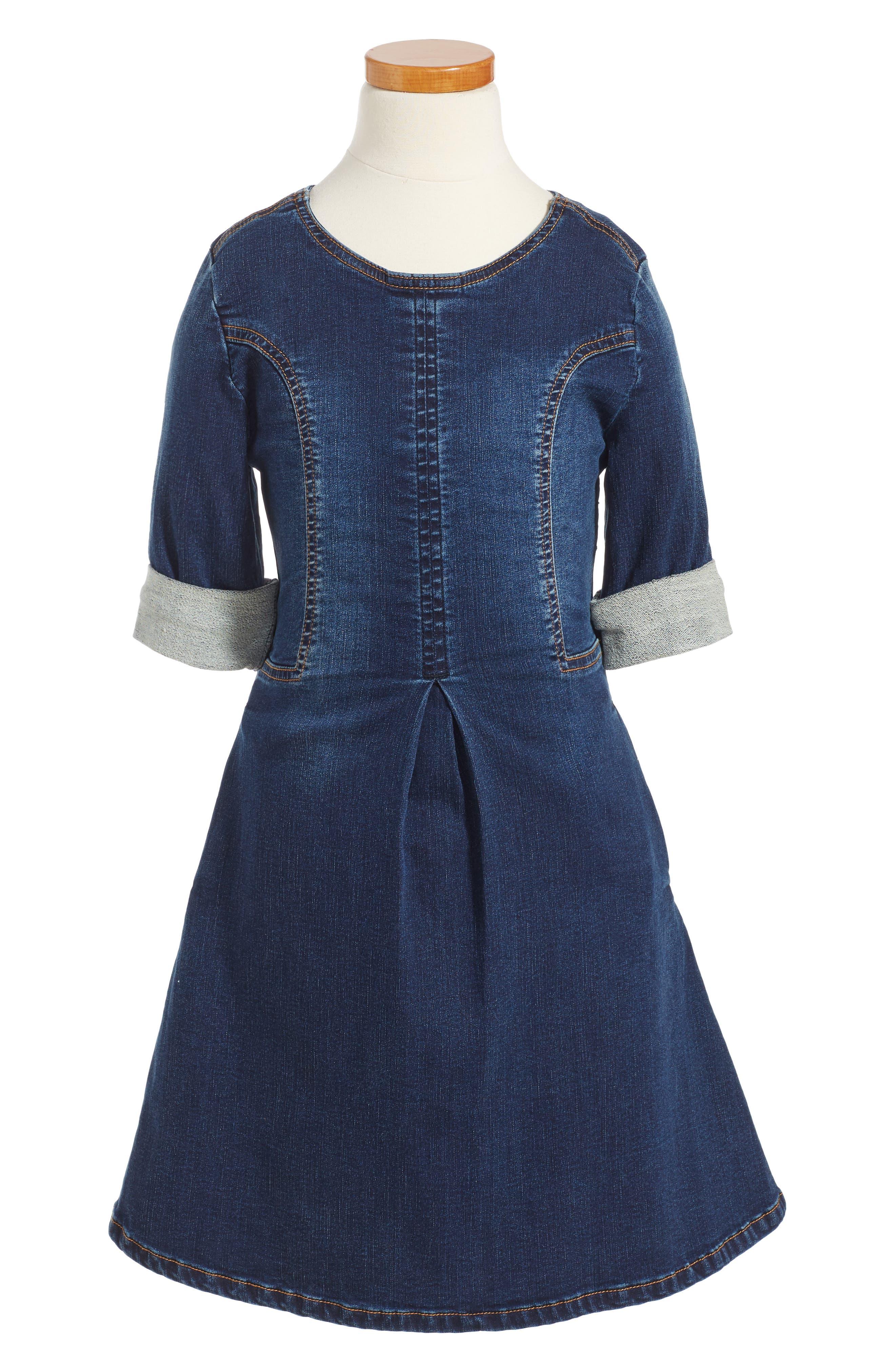 Hudson Kids Stretch Denim Dress (Big Girls)