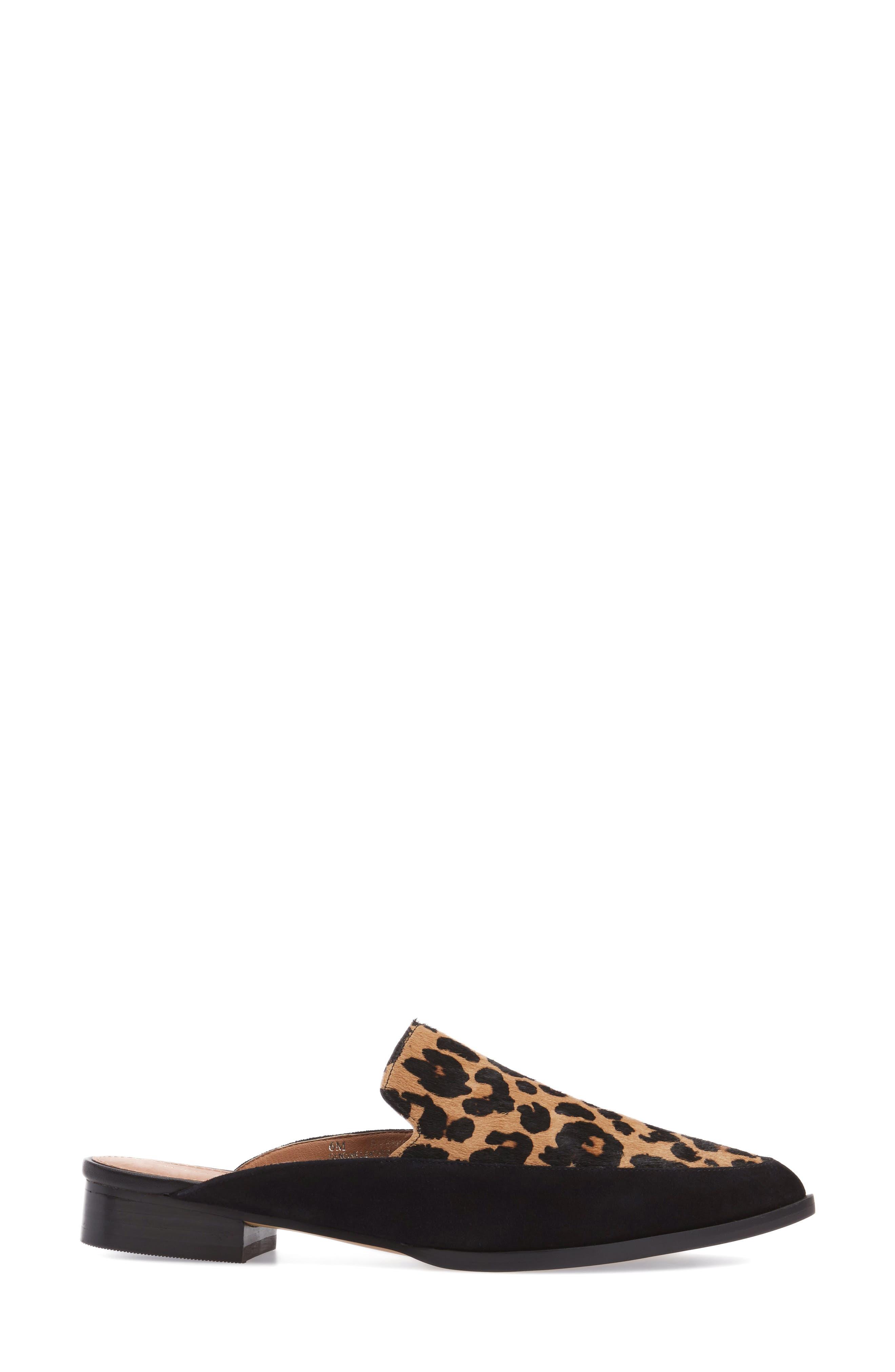 Alternate Image 3  - Halogen® Corbin Genuine Calf Hair Slide Loafer (Women)