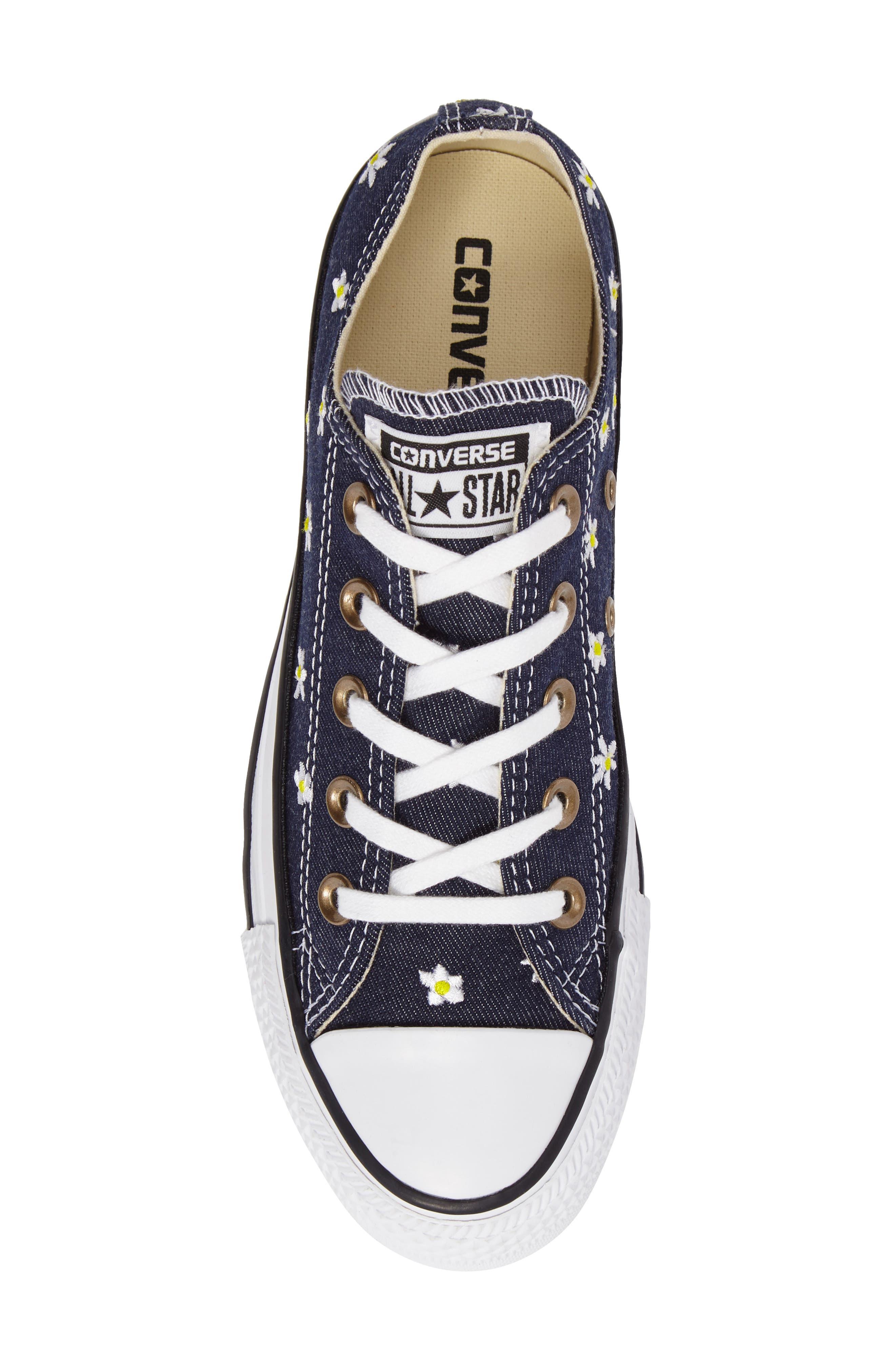 Alternate Image 5  - Converse Chuck Taylor® Low Top Sneaker (Women)