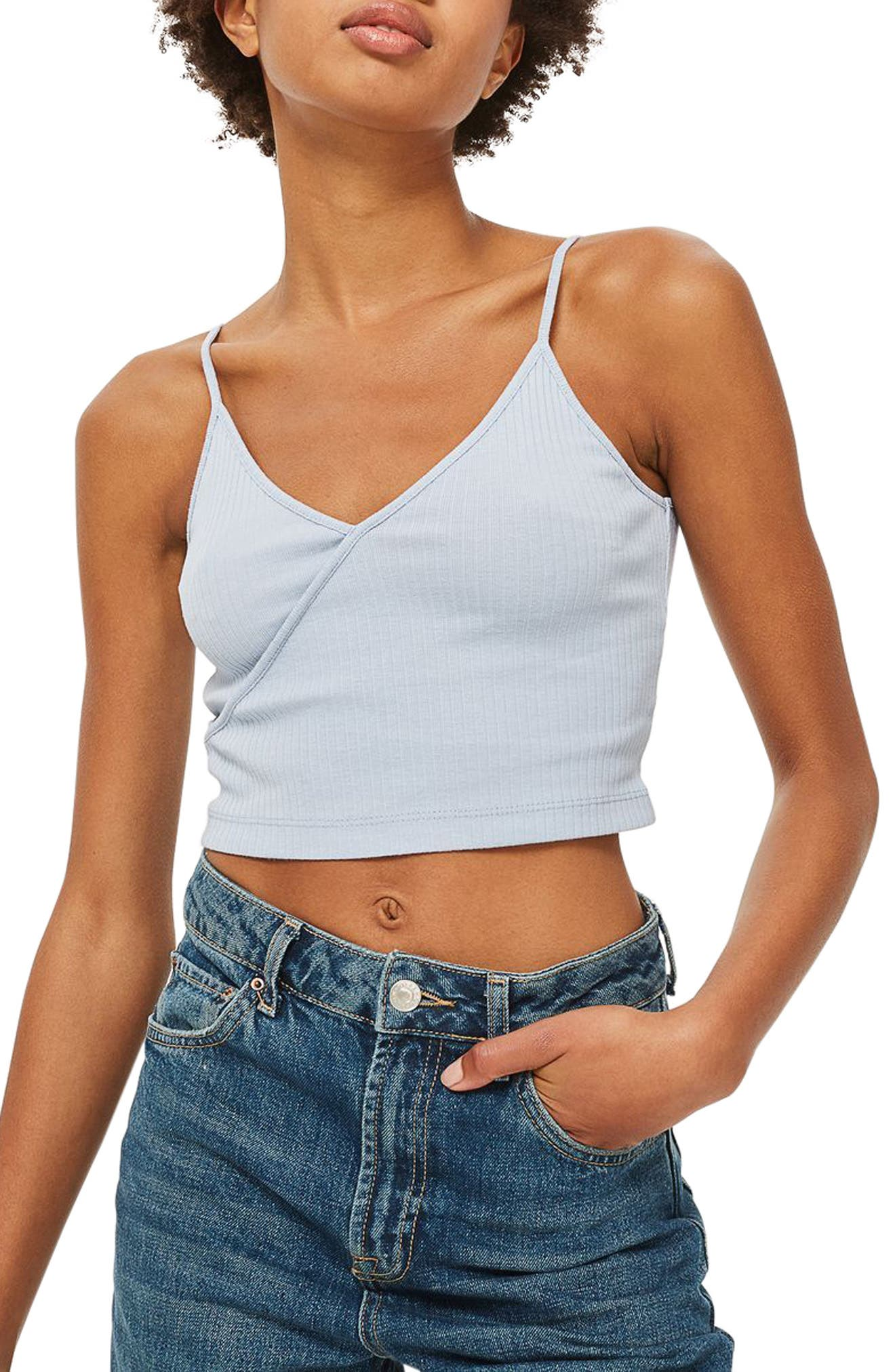 Topshop Kaia Crop Top (Regular & Petite)