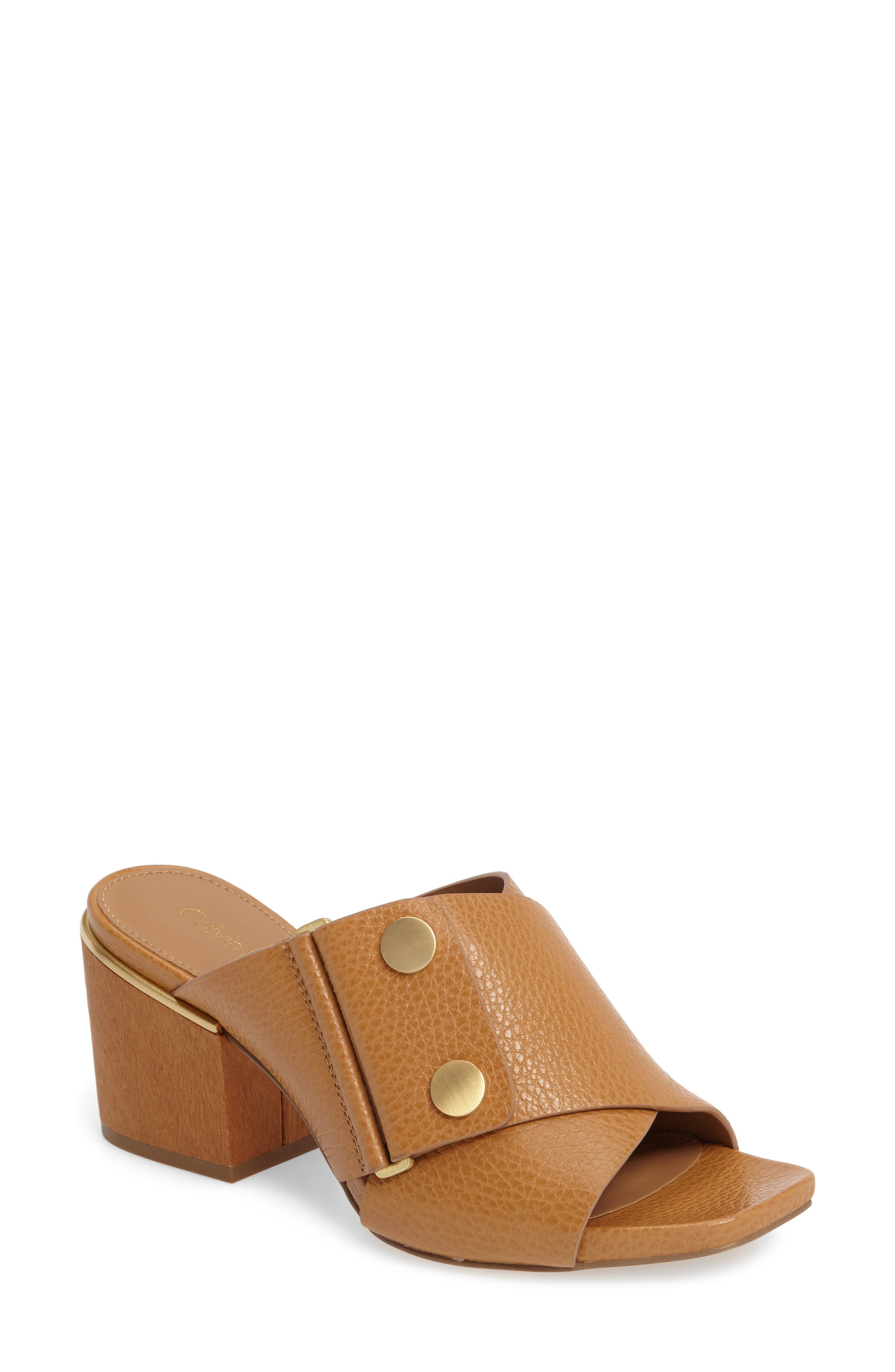 Calvin Klein Joelle Mule Sandal (Women)