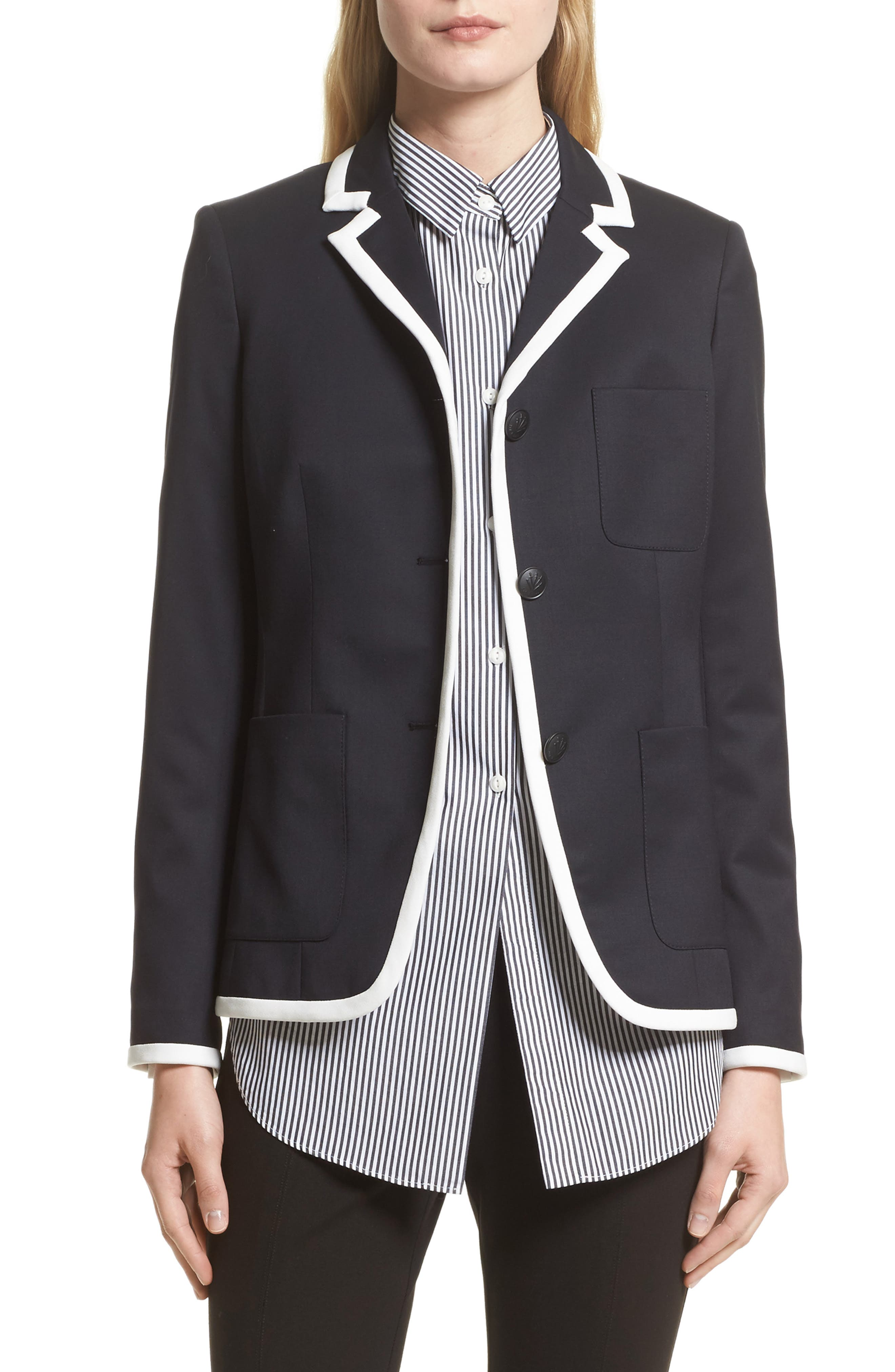 rag & bone Redgrave Piped Blazer (Nordstrom Exclusive)