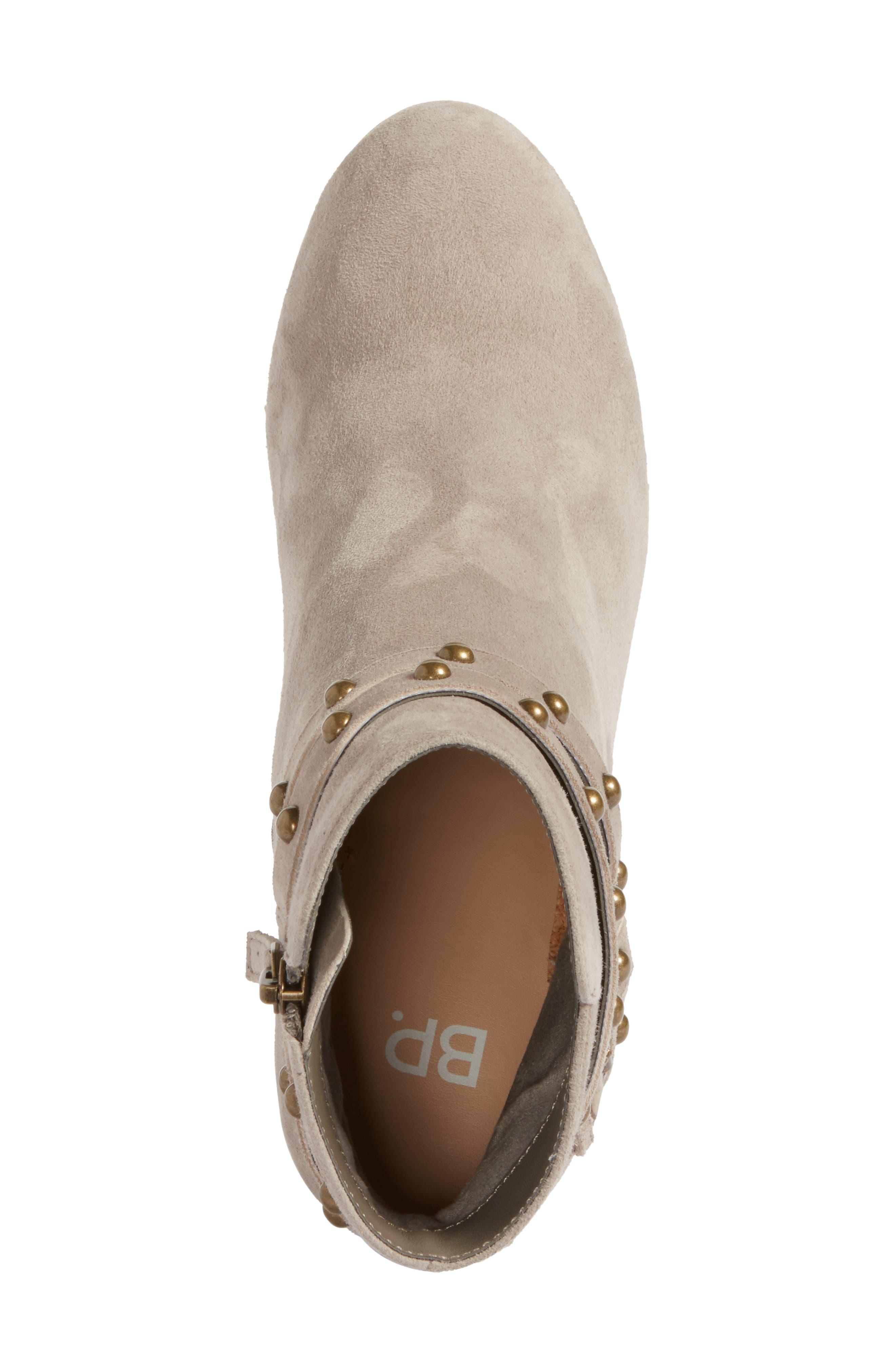 Alternate Image 5  - BP. Kolo Flared-Heel Studded Bootie (Women)