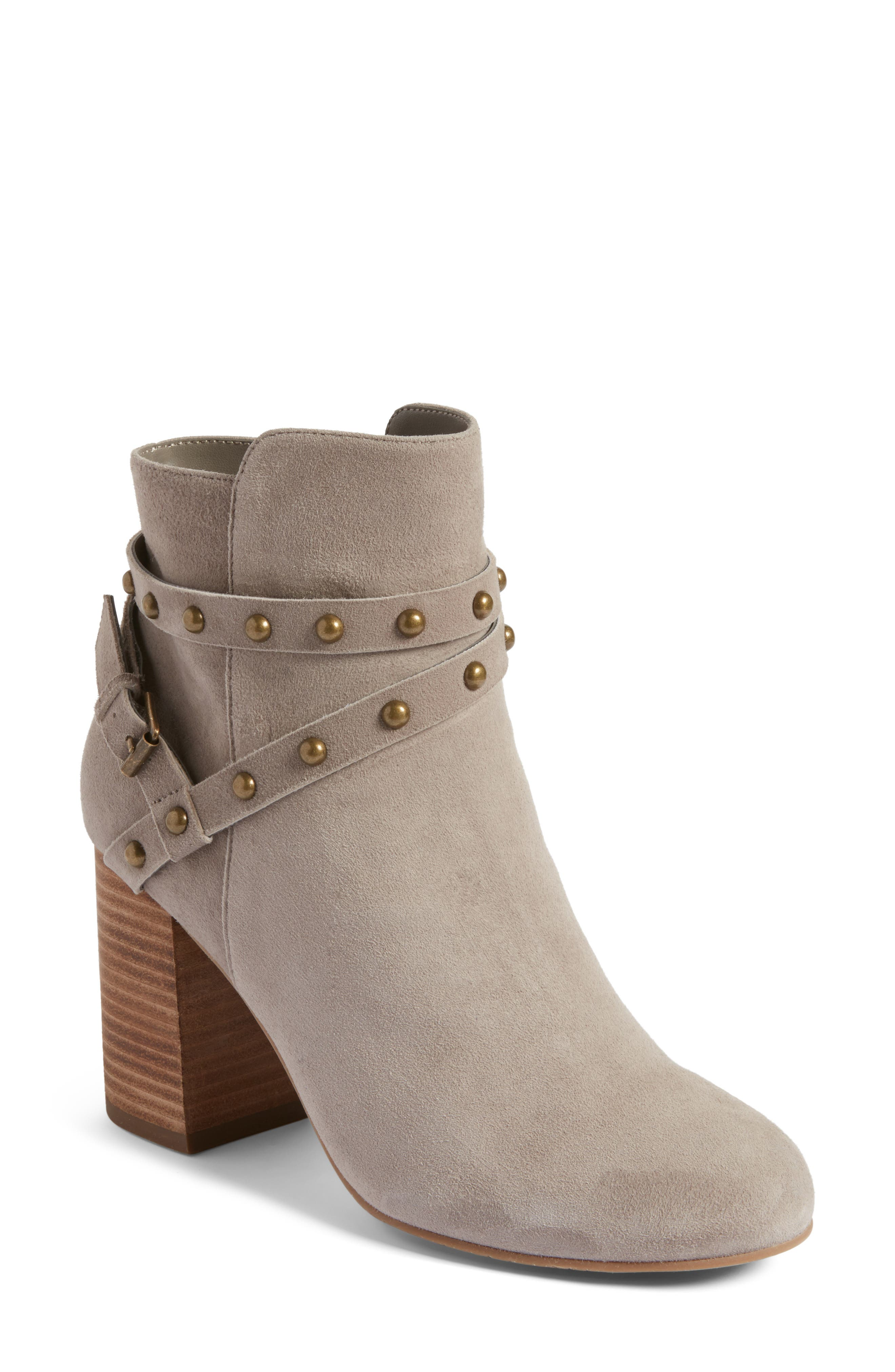 BP. Kolo Flared-Heel Studded Bootie (Women)