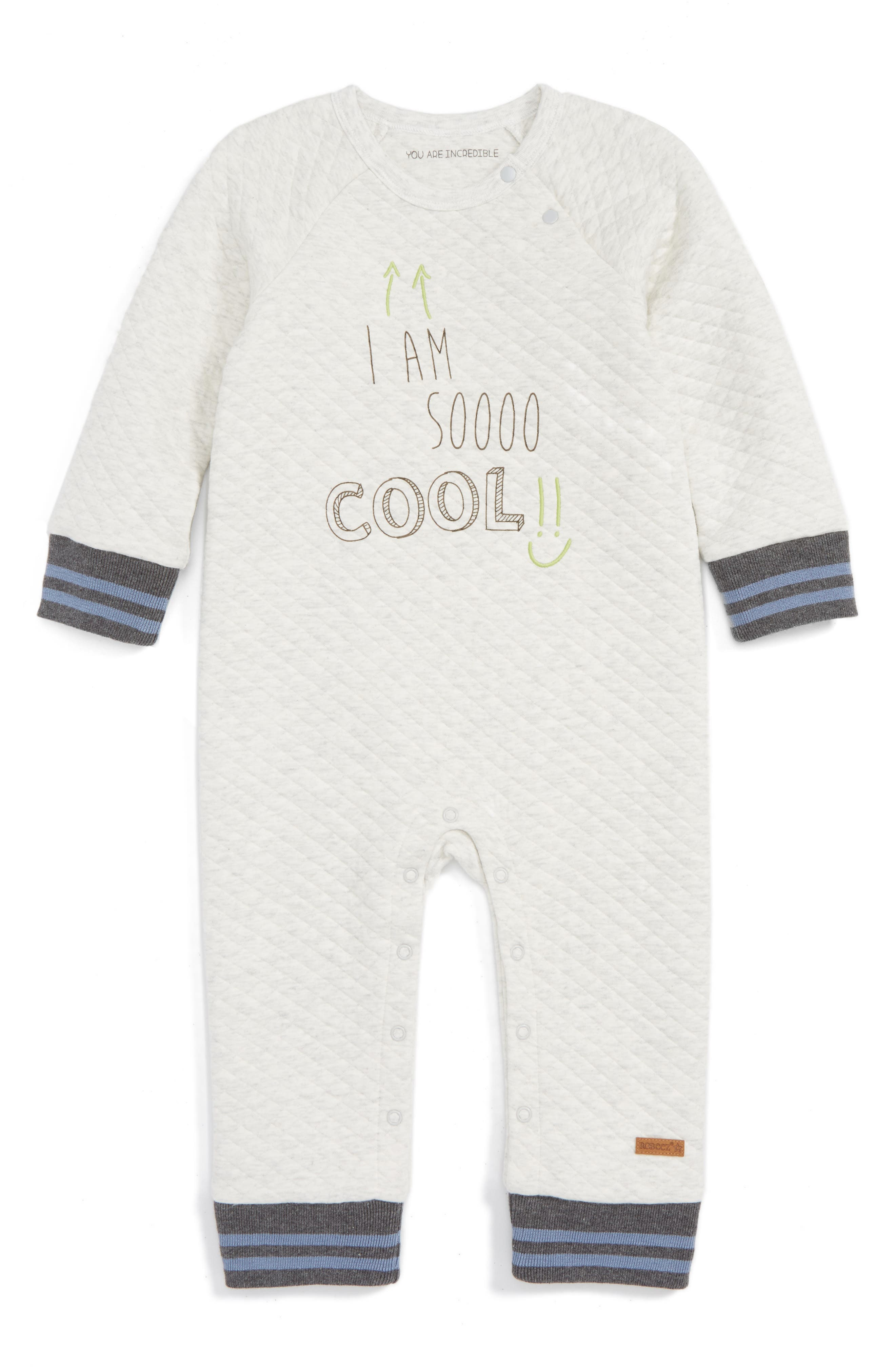 Robeez® I Am So Cool Quilted Romper (Baby)