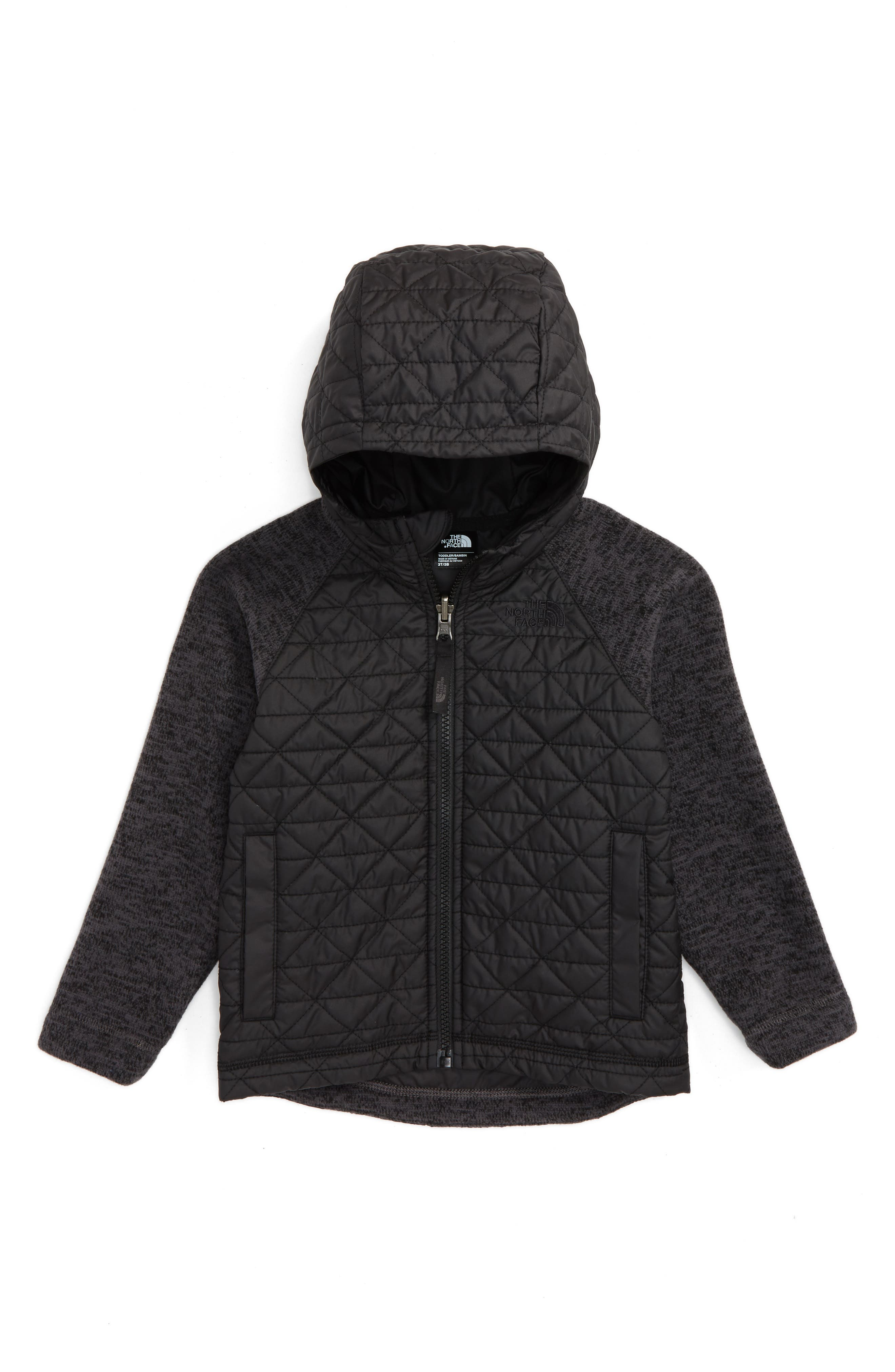 The North Face Water Repellent Quilted Sweater Fleece Jacket (Toddler Boys & Little Boys)