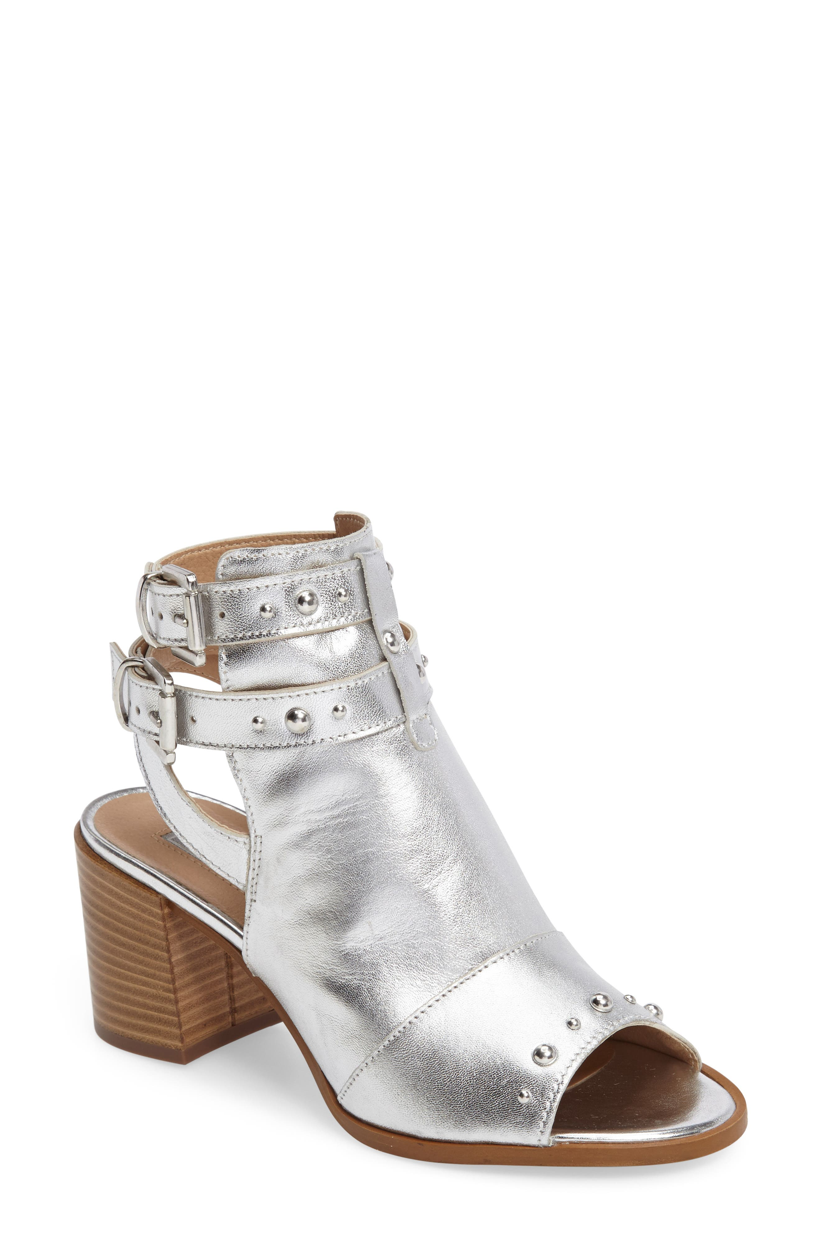 Topshop National Studded Sandal (Women)