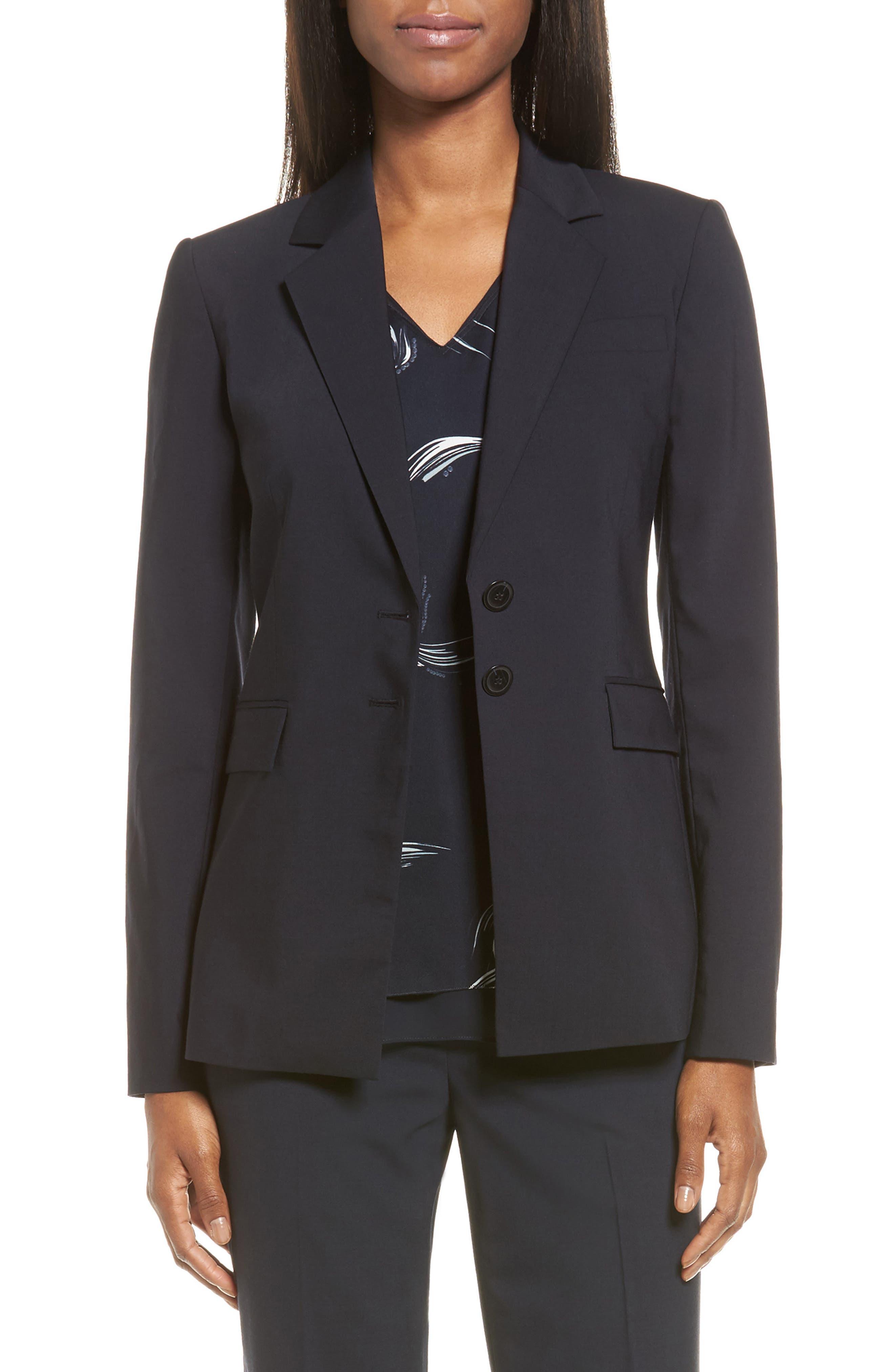 Classiques Entier® Stretch Wool Blend Suit Jacket