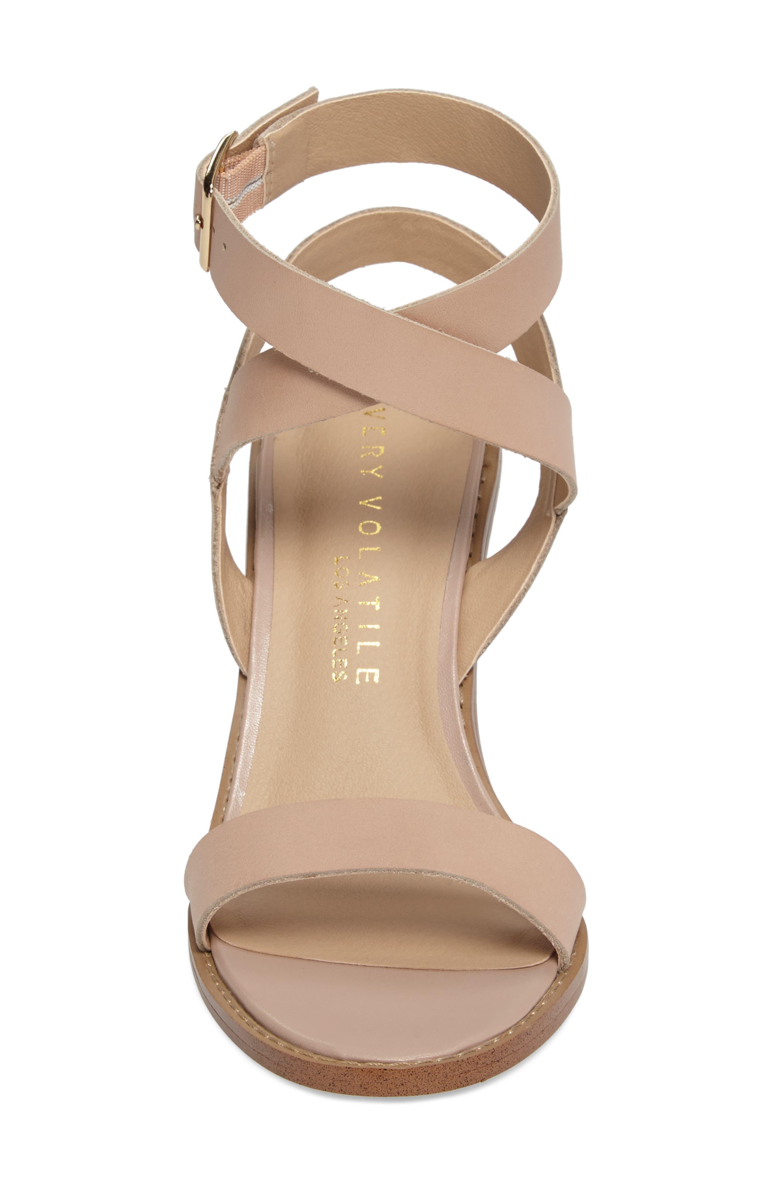 Alternate Image 4  - Very Volatile Poshy Ankle Wrap Sandal (Women)