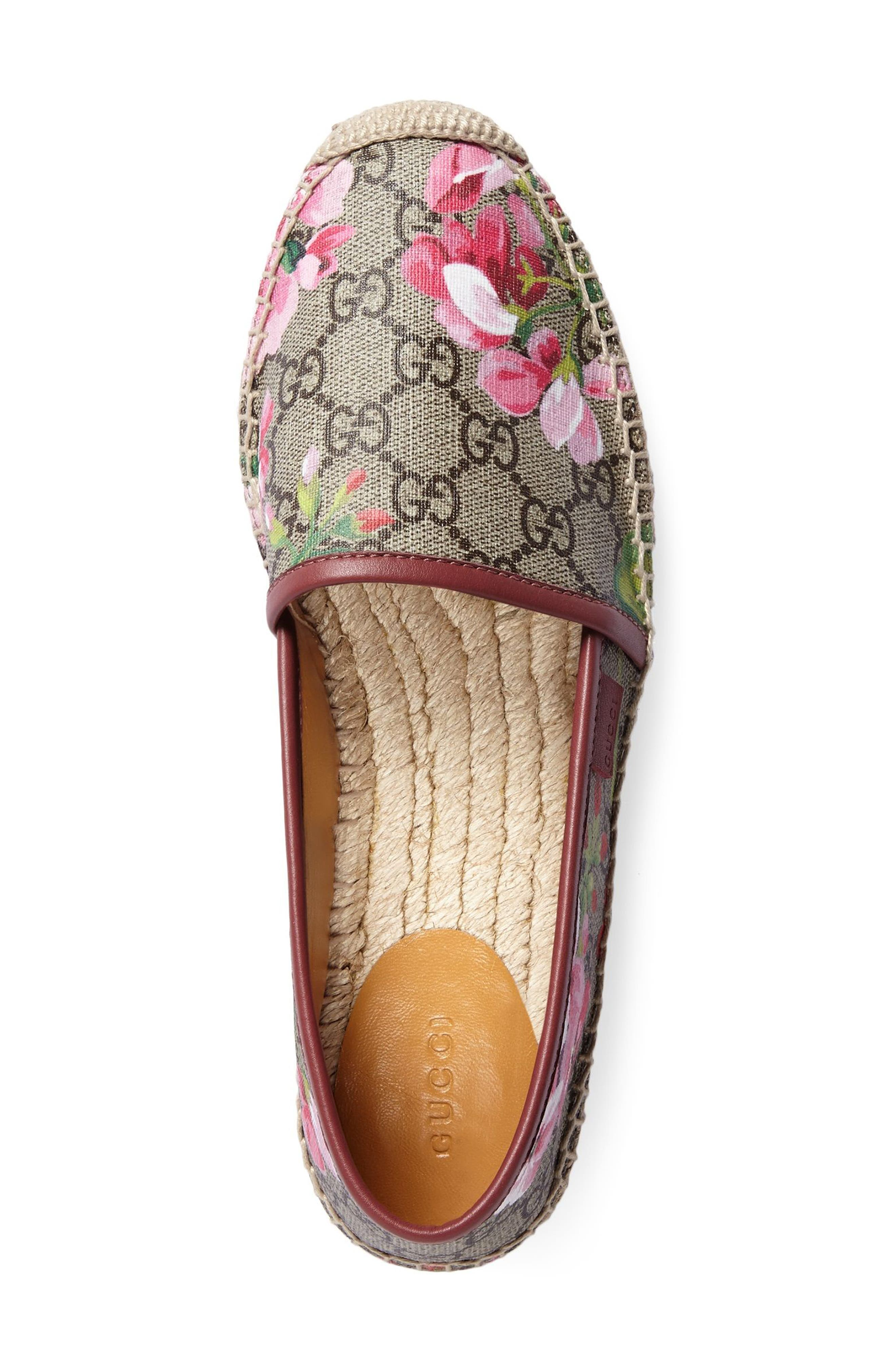 Alternate Image 2  - Gucci 'Pilar' Espadrille Slip-On Flat (Women)