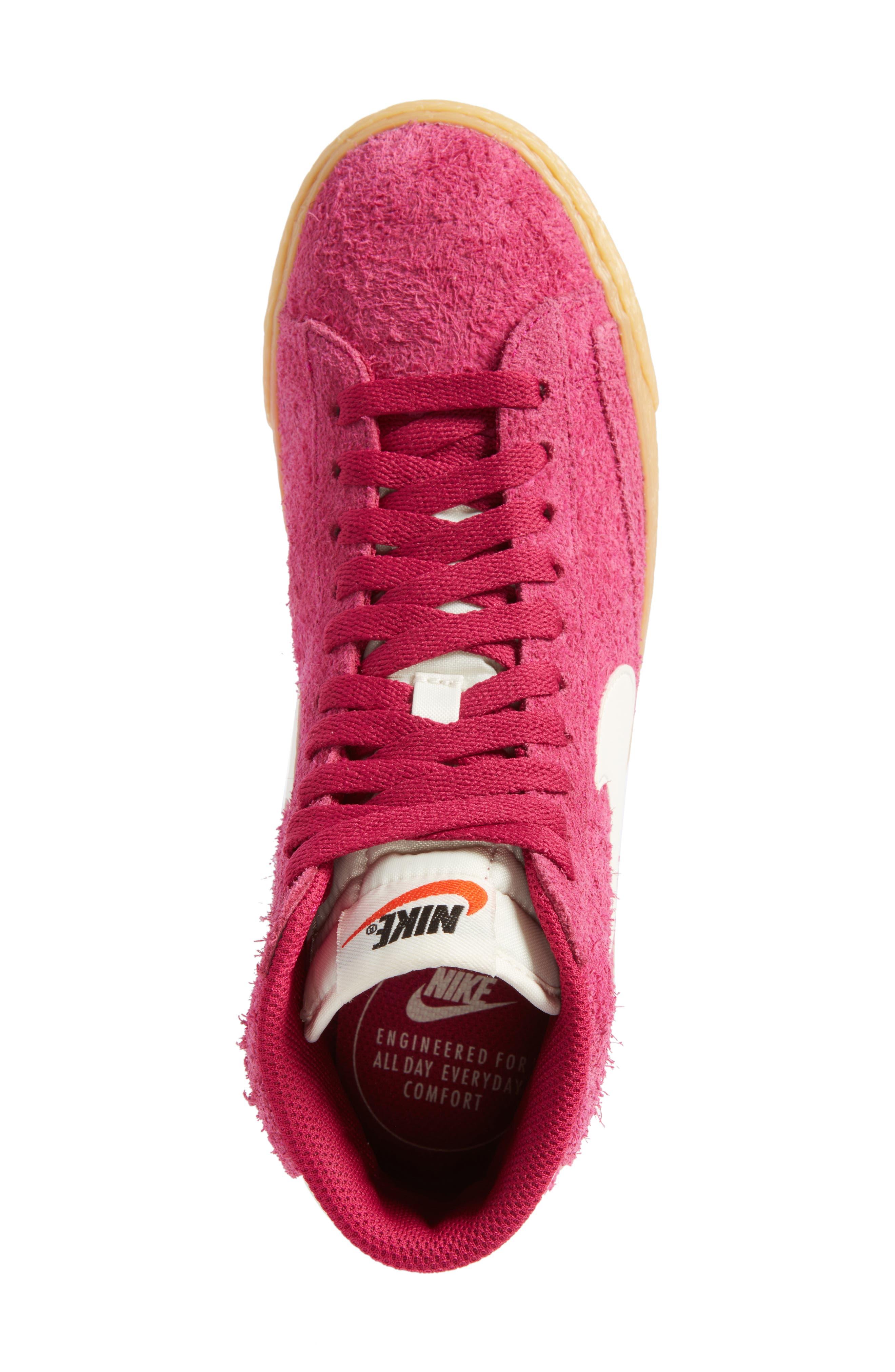 Alternate Image 5  - Nike 'Blazer' Vintage High Top Basketball Sneaker (Women)