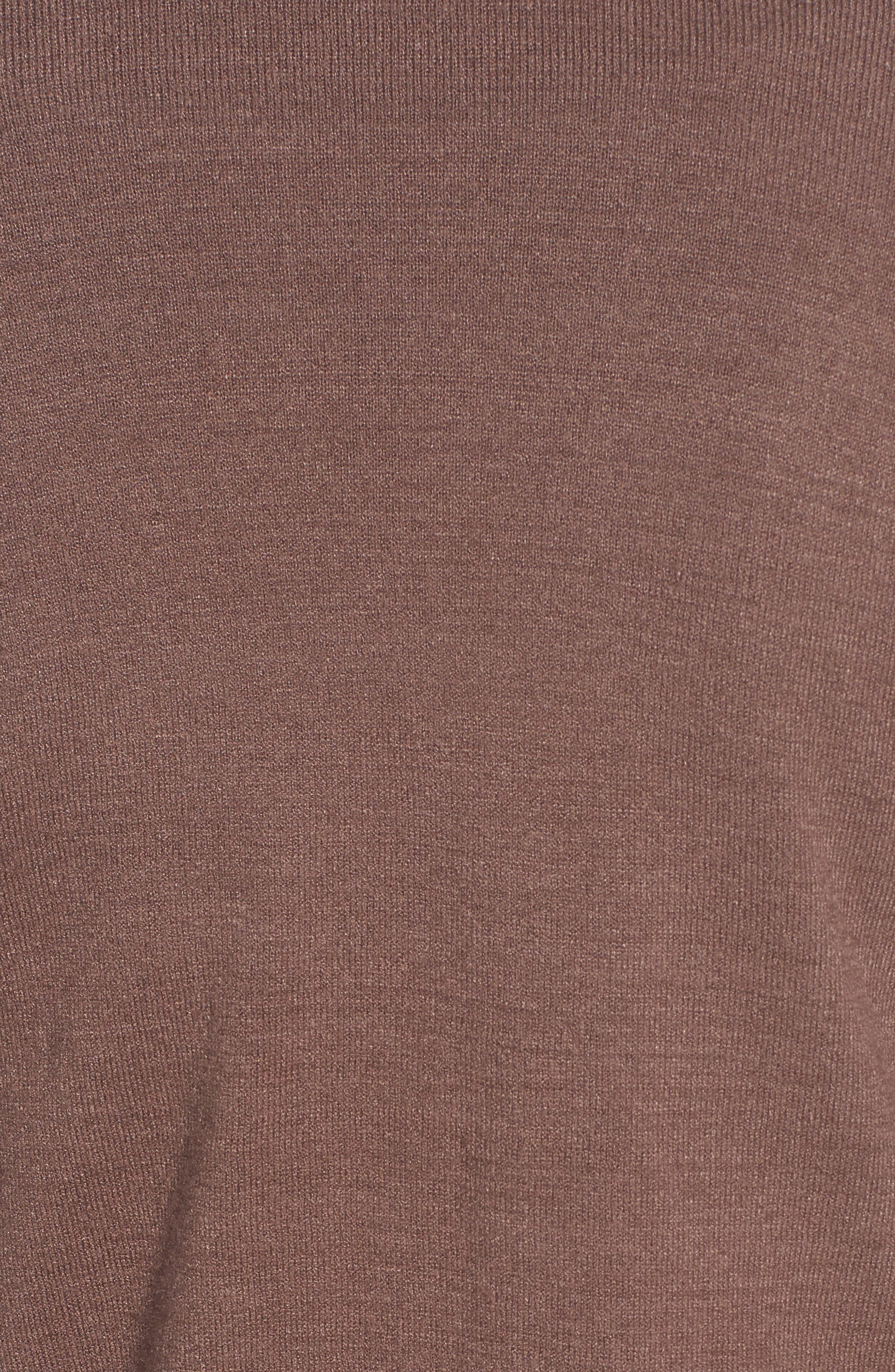Alternate Image 5  - Hinge Ruched Bell Sleeve Cardigan