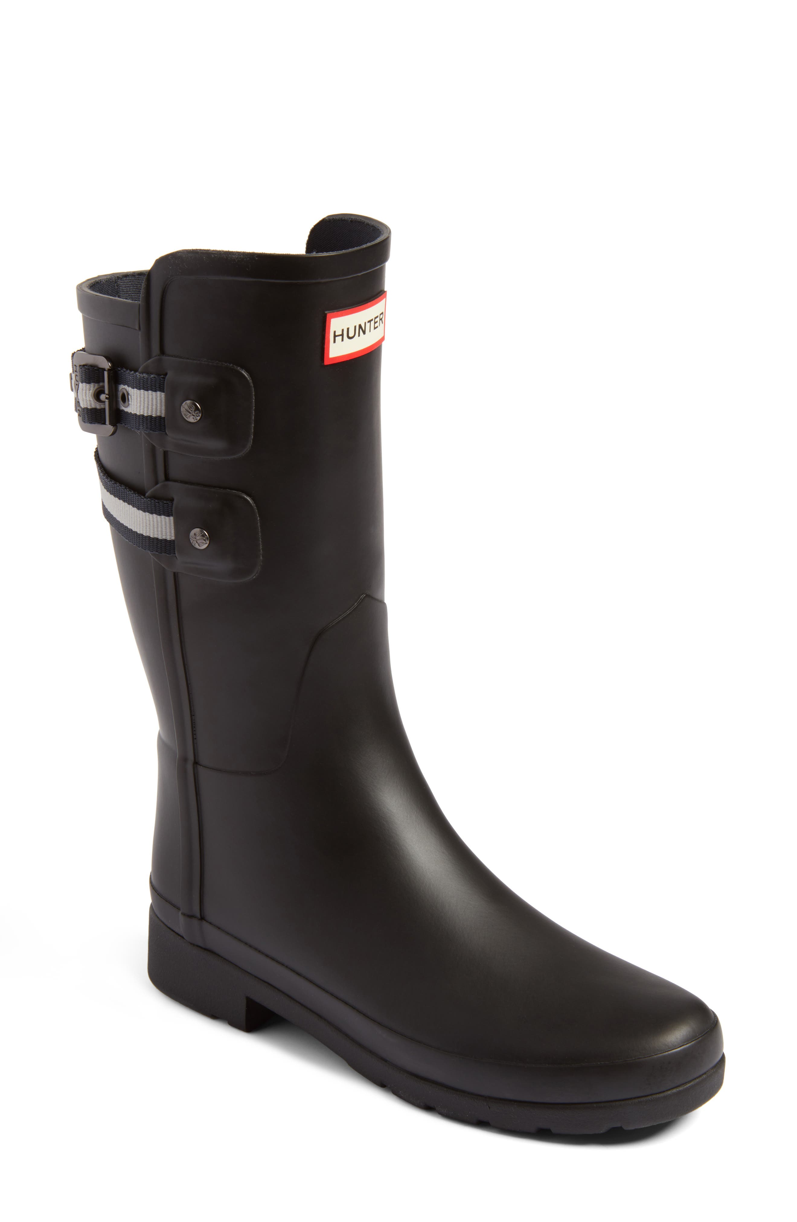 Main Image - Hunter Original Refined Short Rain Boot (Women)