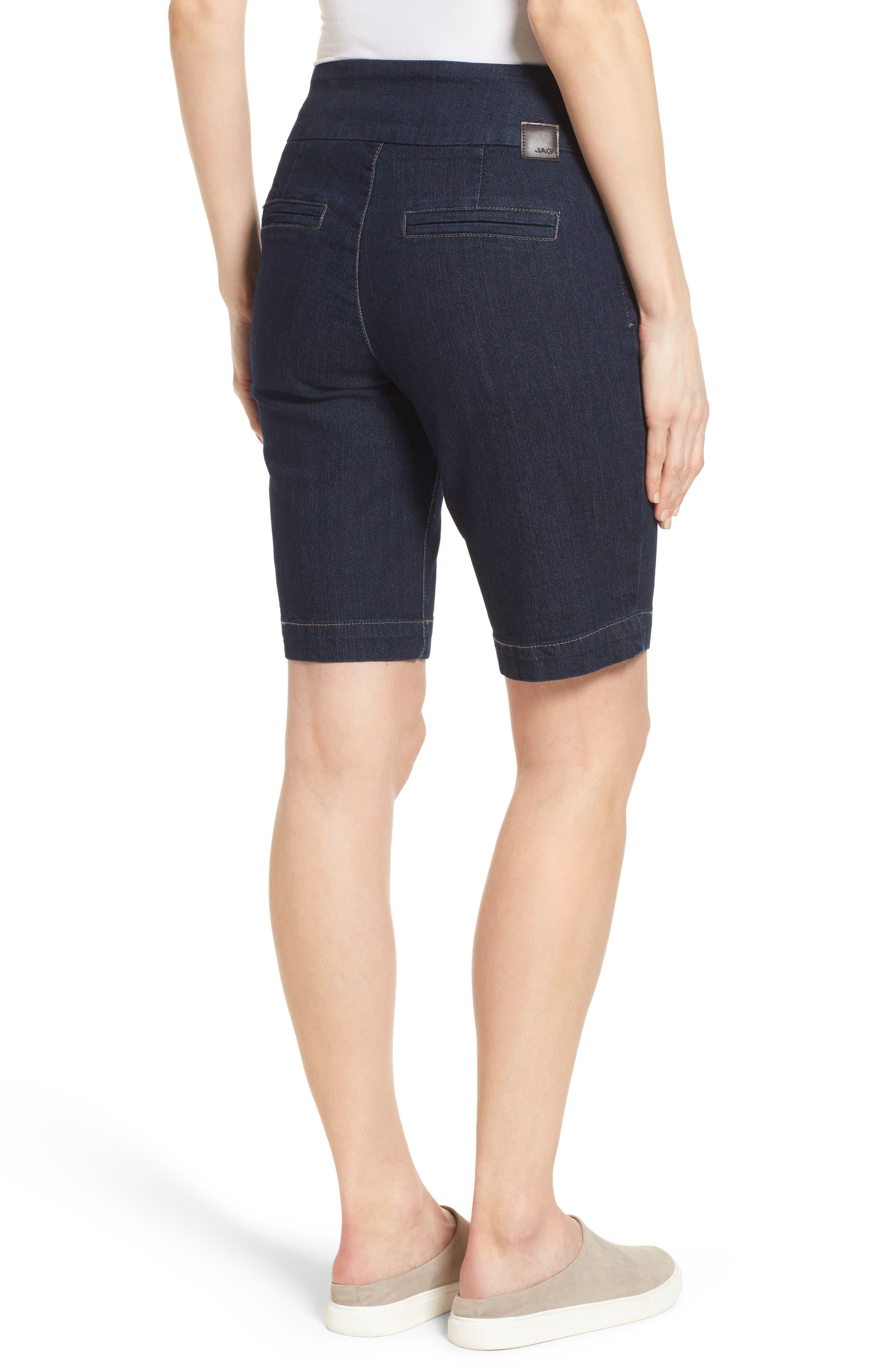 Alternate Image 2  - Jag Jeans Ainsley Slim Denim Bermuda Shorts