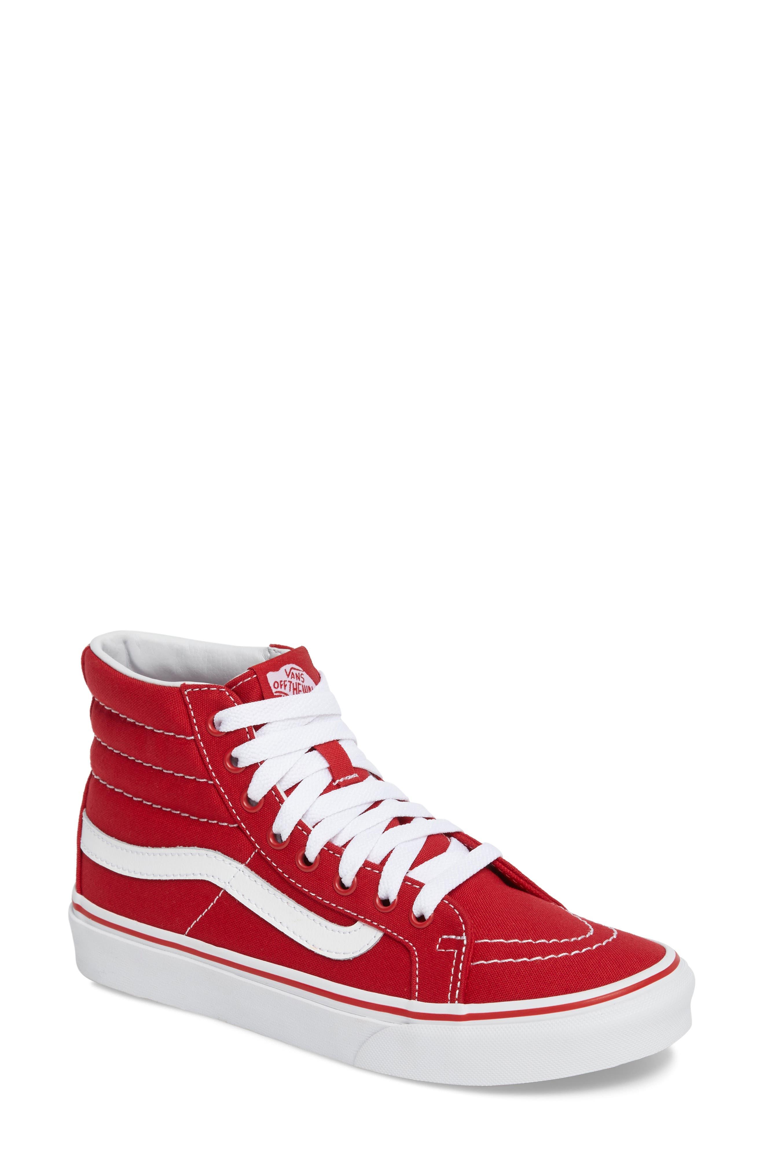 Main Image - Vans 'Sk8-Hi Slim' Sneaker (Women)