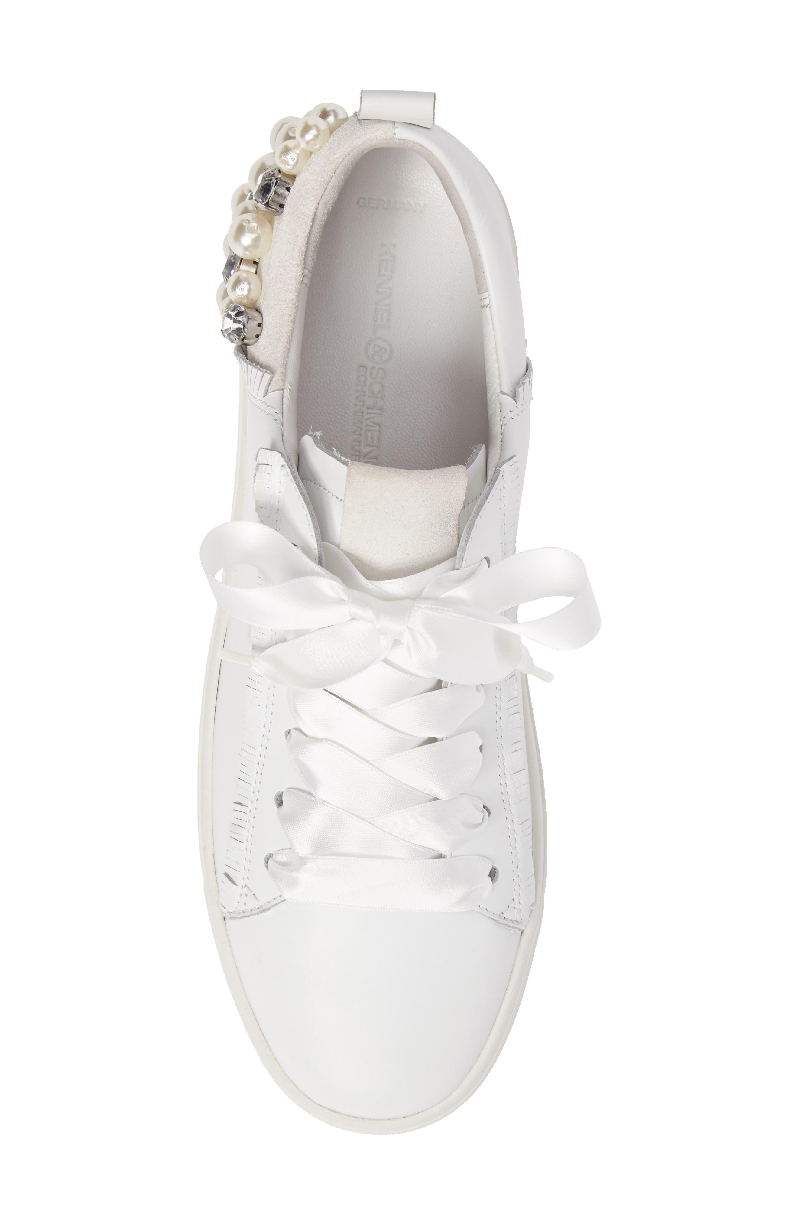 Alternate Image 5  - Kennel & Schmenger Town Flower Sneaker (Women)