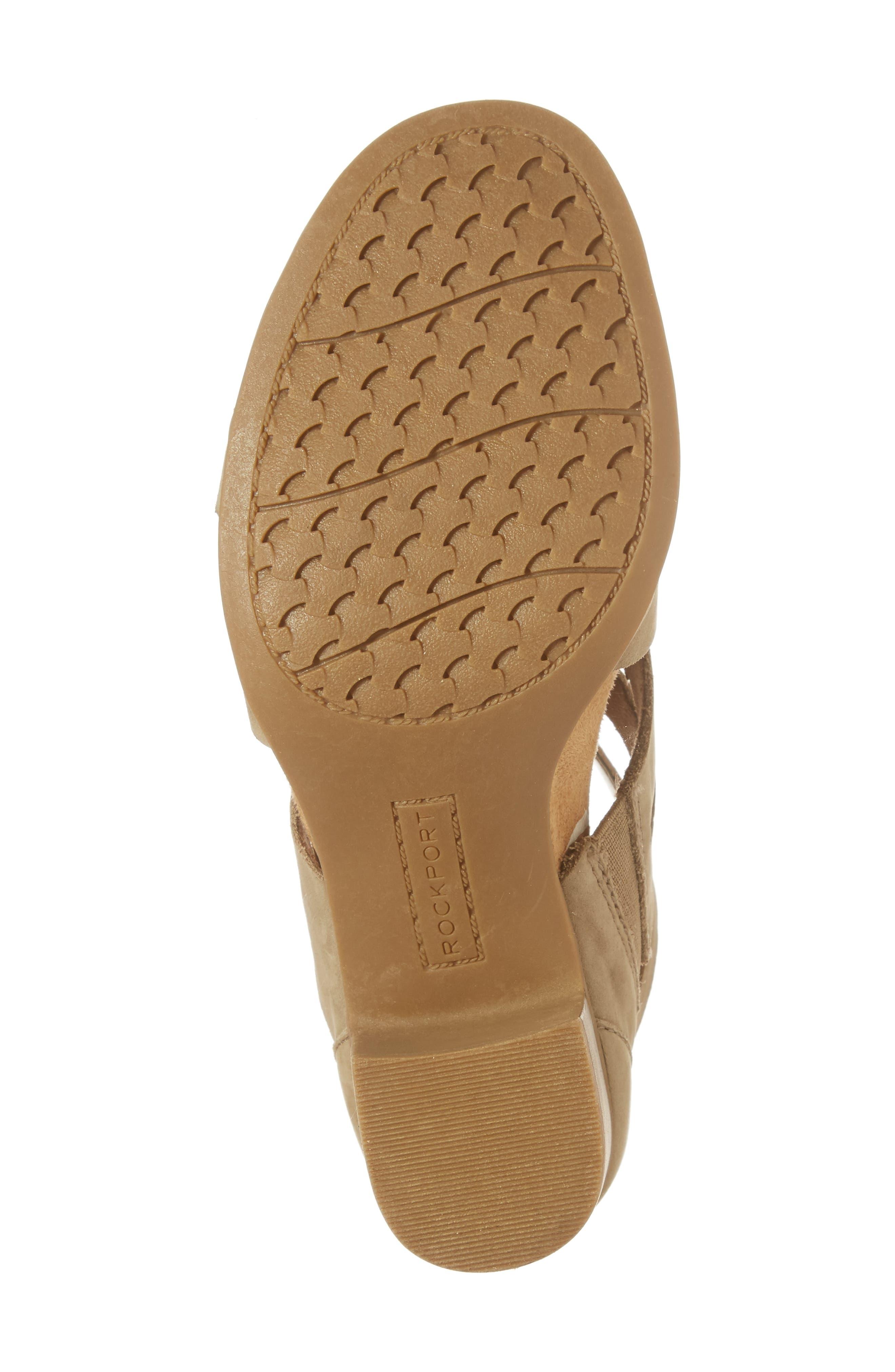 Alternate Image 6  - Rockport Cobb Hill Hattie Block Heel Gladiator Sandal (Women)