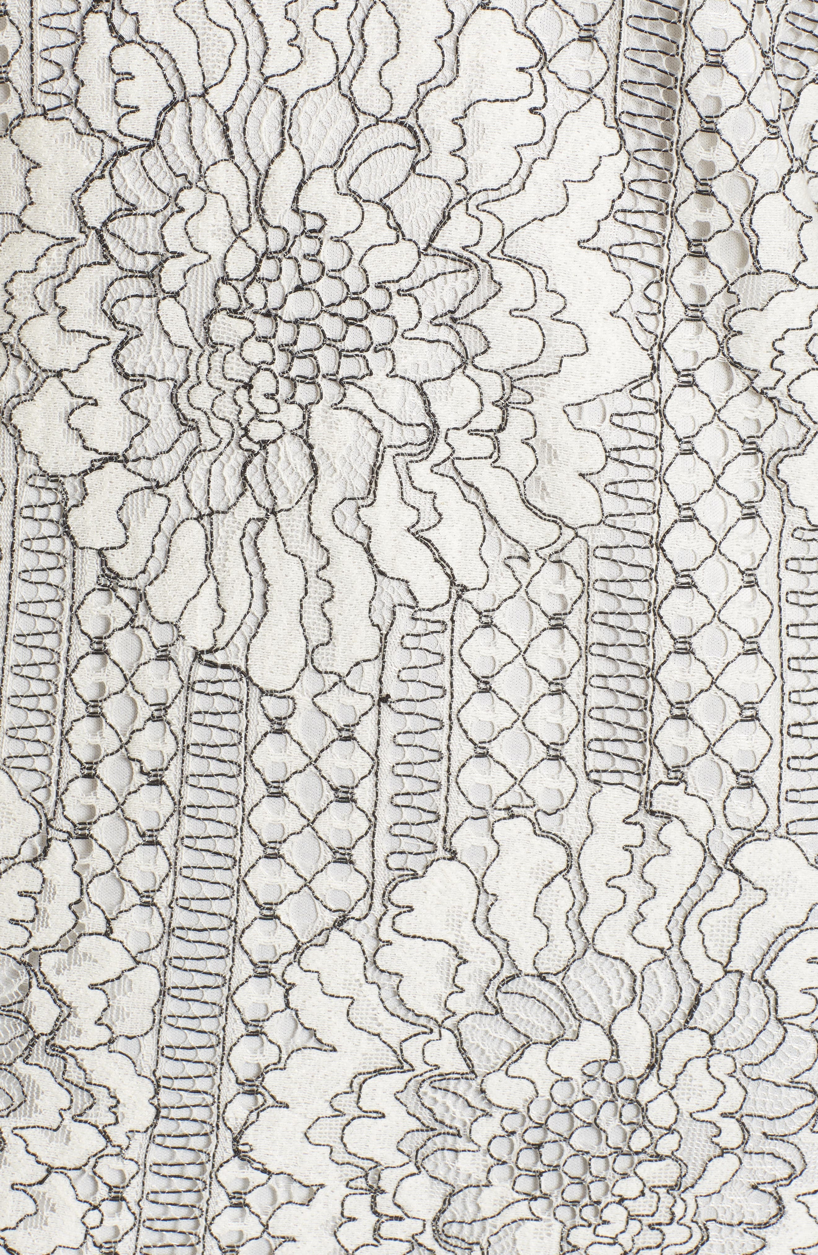 Alternate Image 5  - Socialite Choker Lace Shift Dress