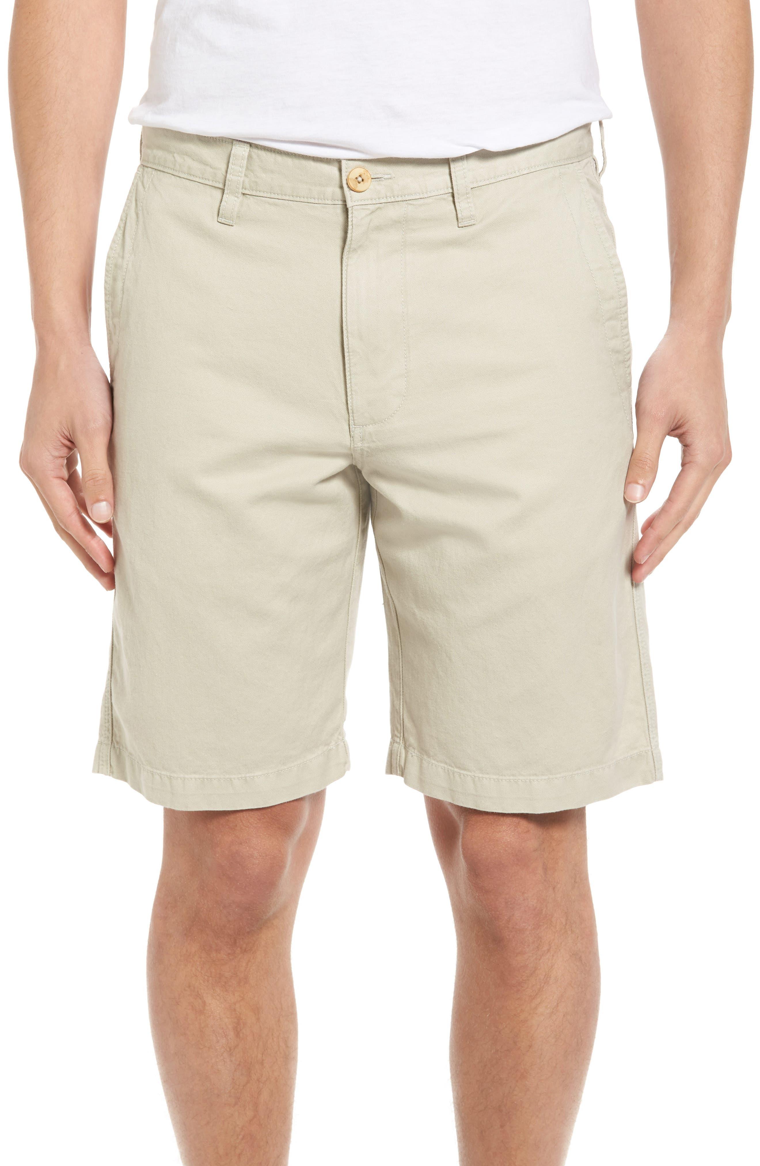 Tommy Bahama Aegean Flat Front Chino Shorts (Regular & Big)