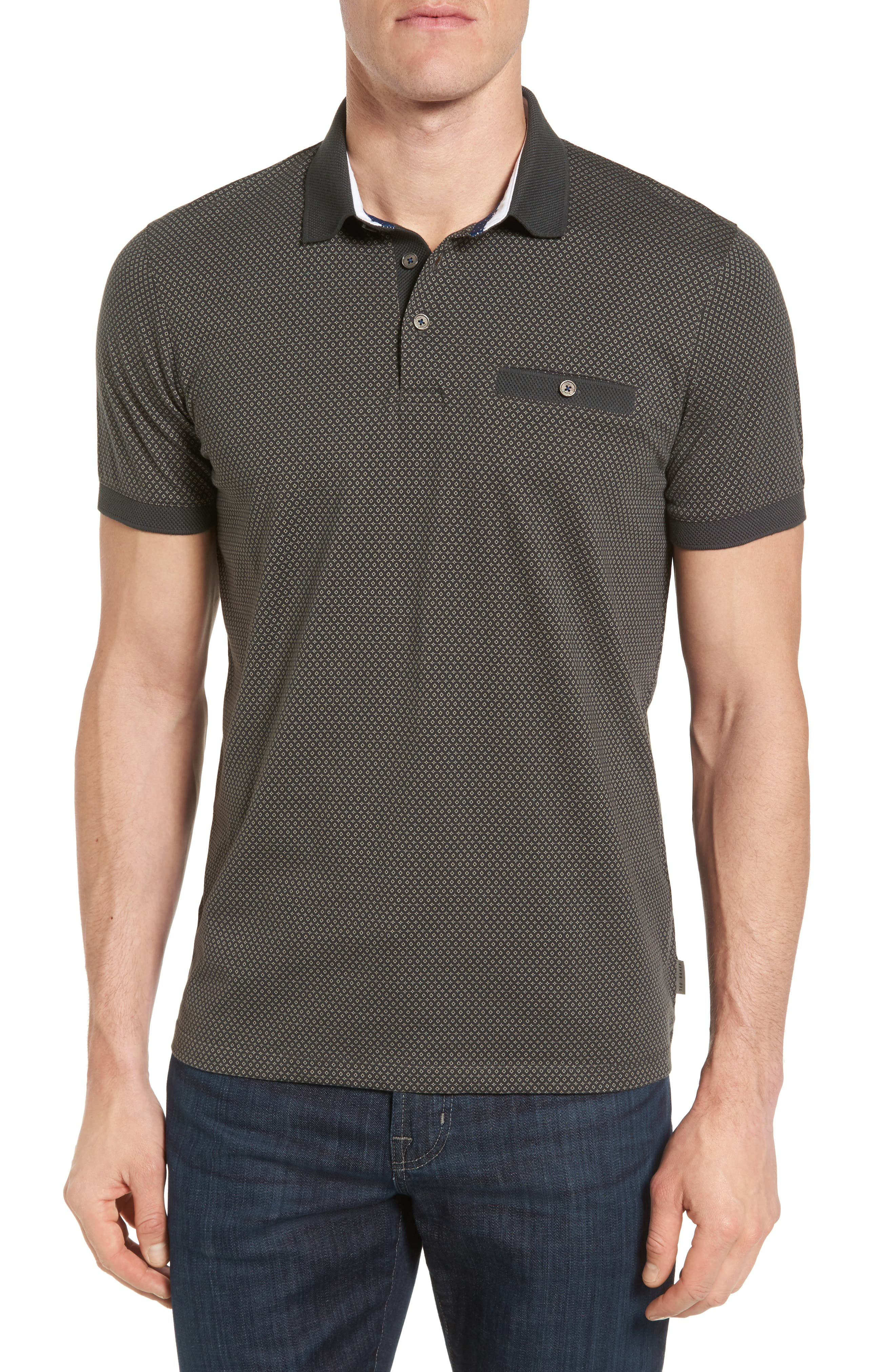 Ted Baker London Dukwrth Print Polo