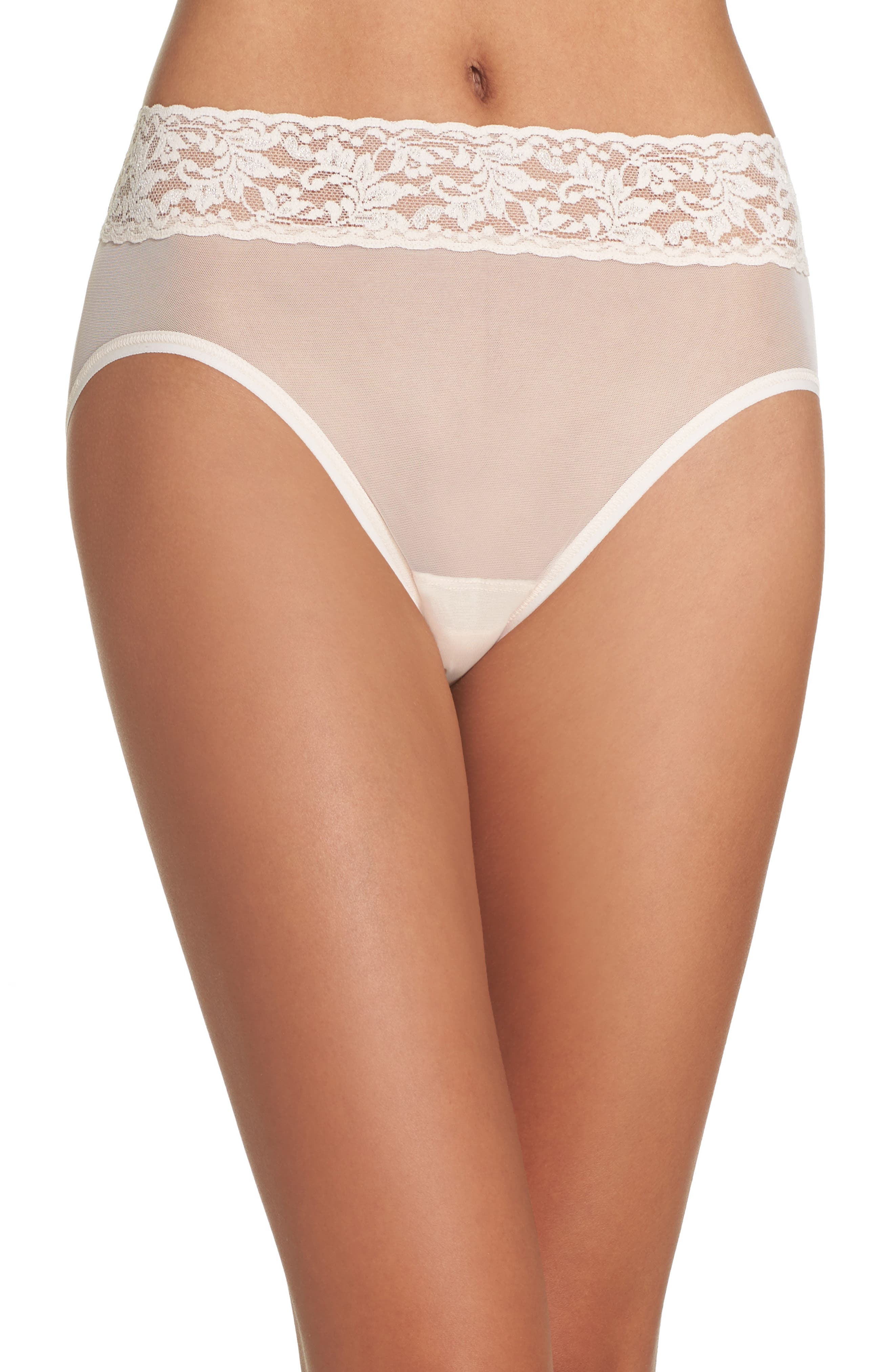 Hanky Panky Mesh French Briefs