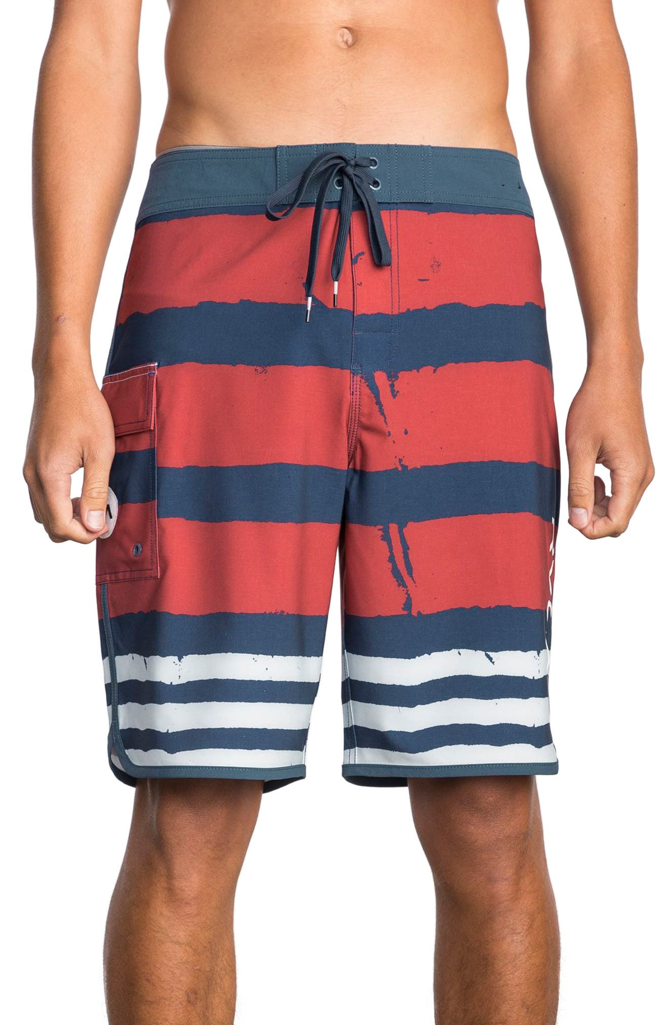 RVCA Scalloped Swim Trunks