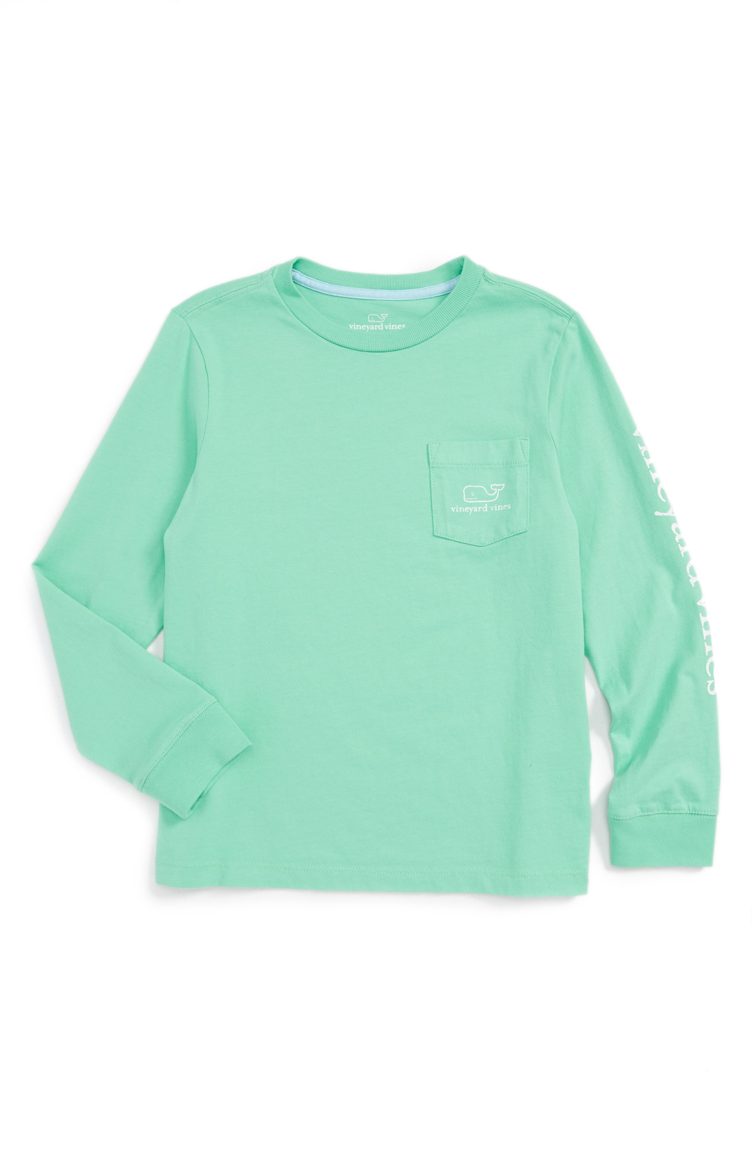 VINEYARD VINES 'Vintage Whale' Graphic Long Sleeve T-Shirt