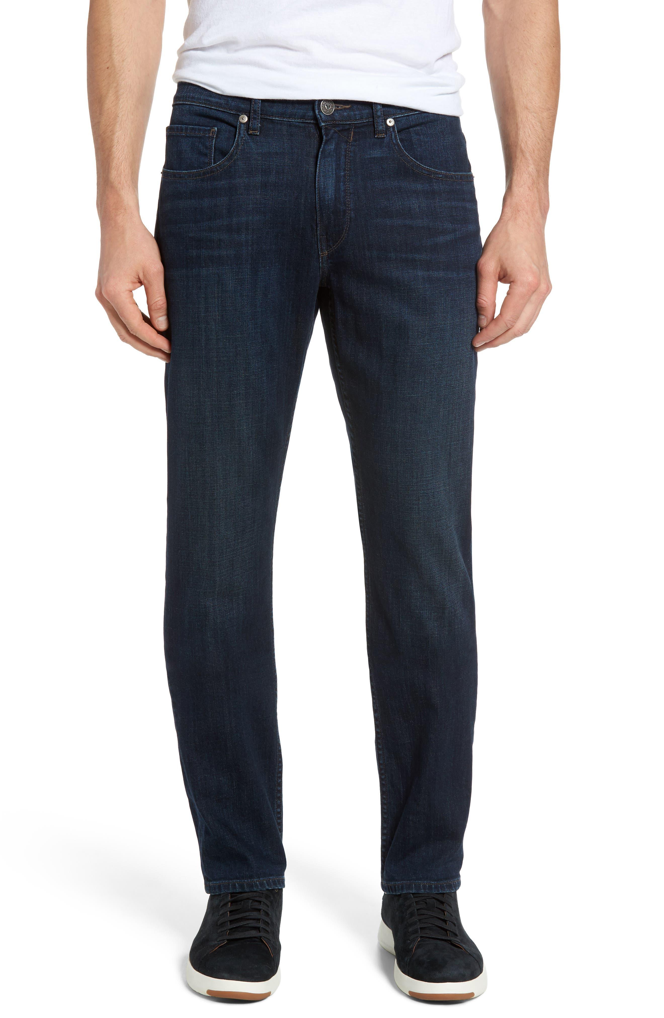 PAIGE Normandie Straight Leg Jeans (Cape)