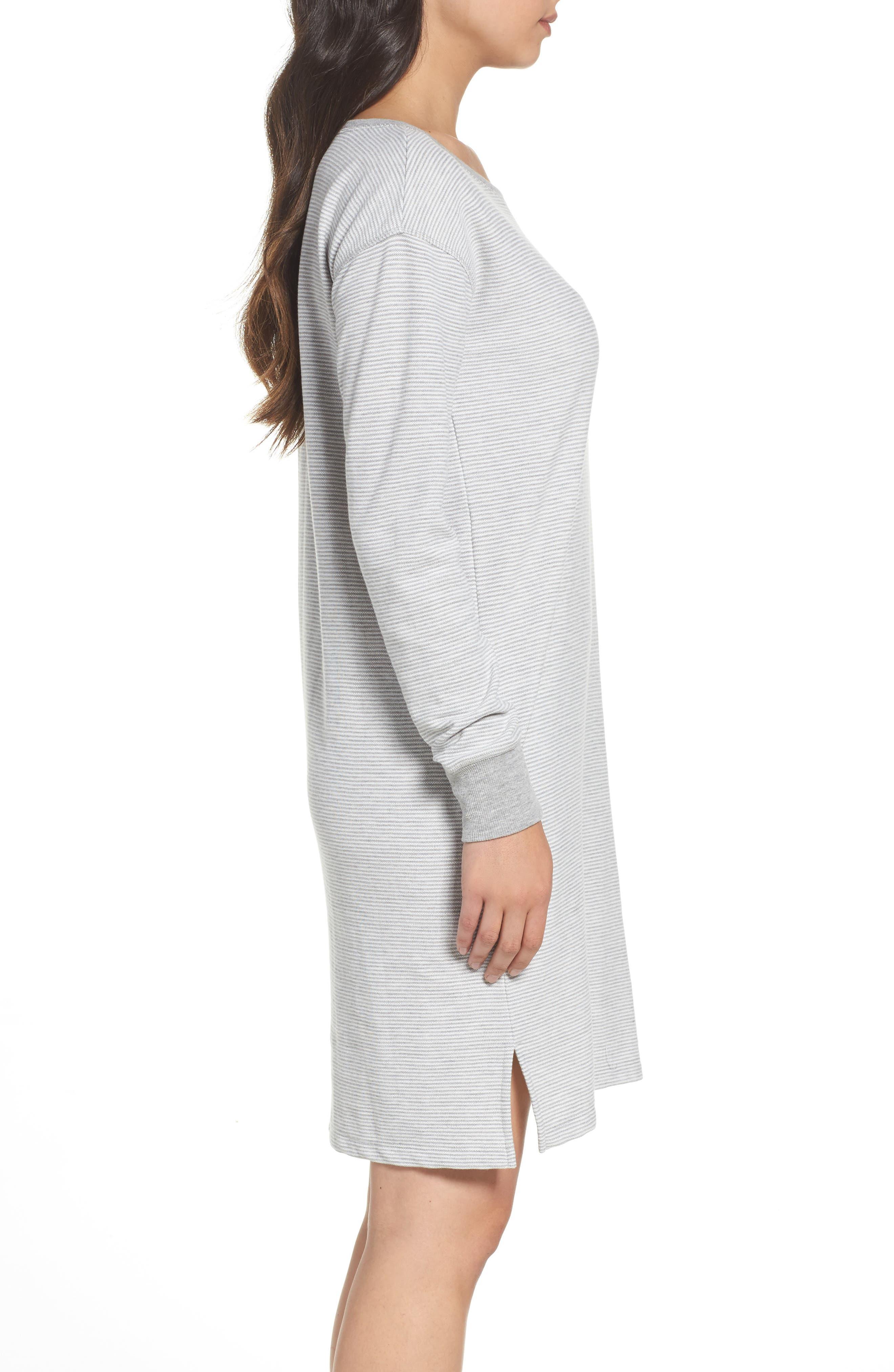 Alternate Image 3  - Lauren Ralph Lauren Longline Lounge Sweatshirt