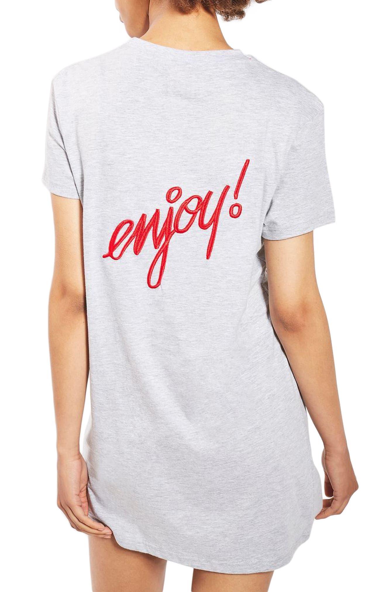 Alternate Image 2  - Topshop Coca Cola® Sleep T-Shirt