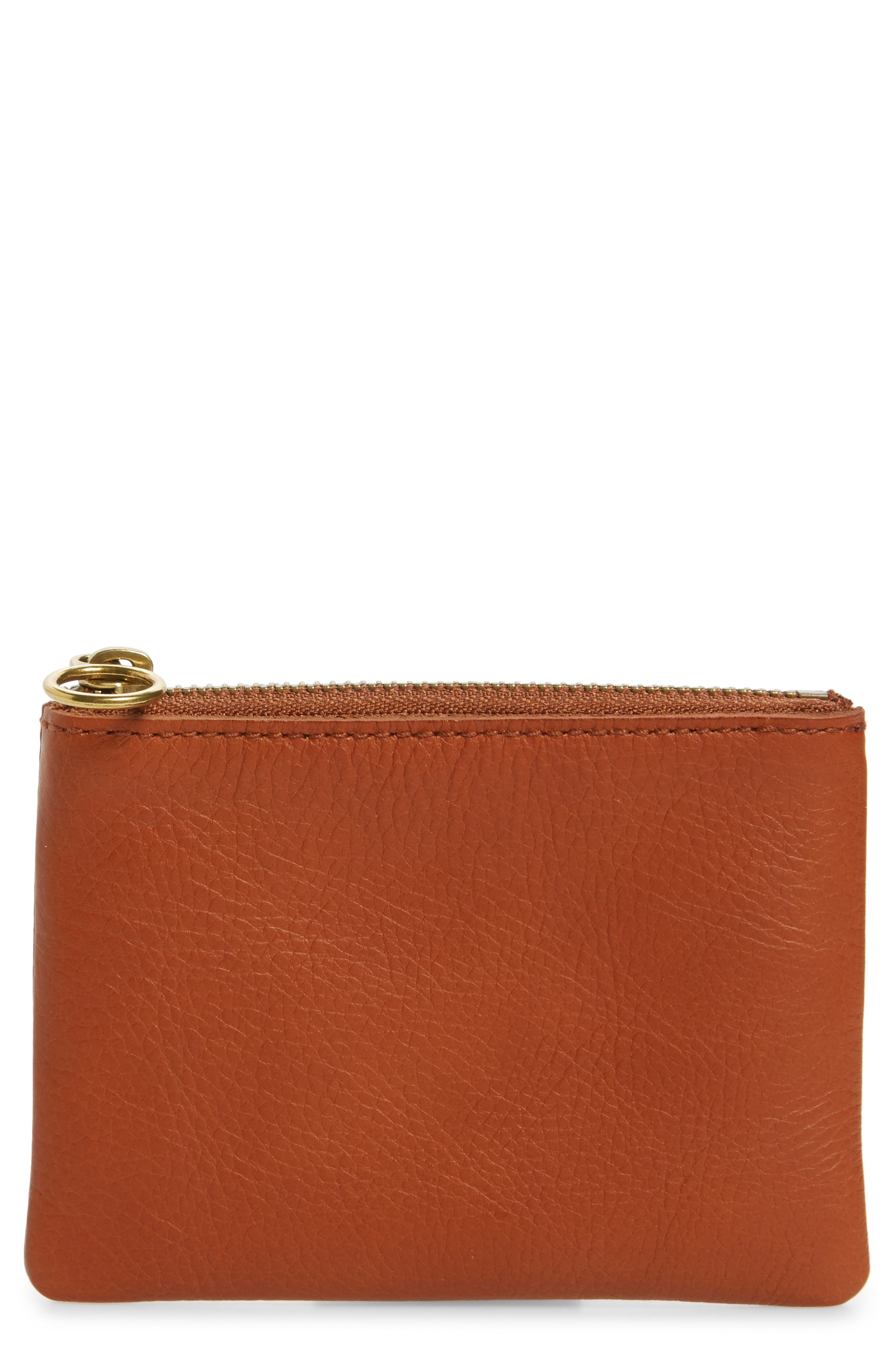 Madewell Small Victory Leather Pouch