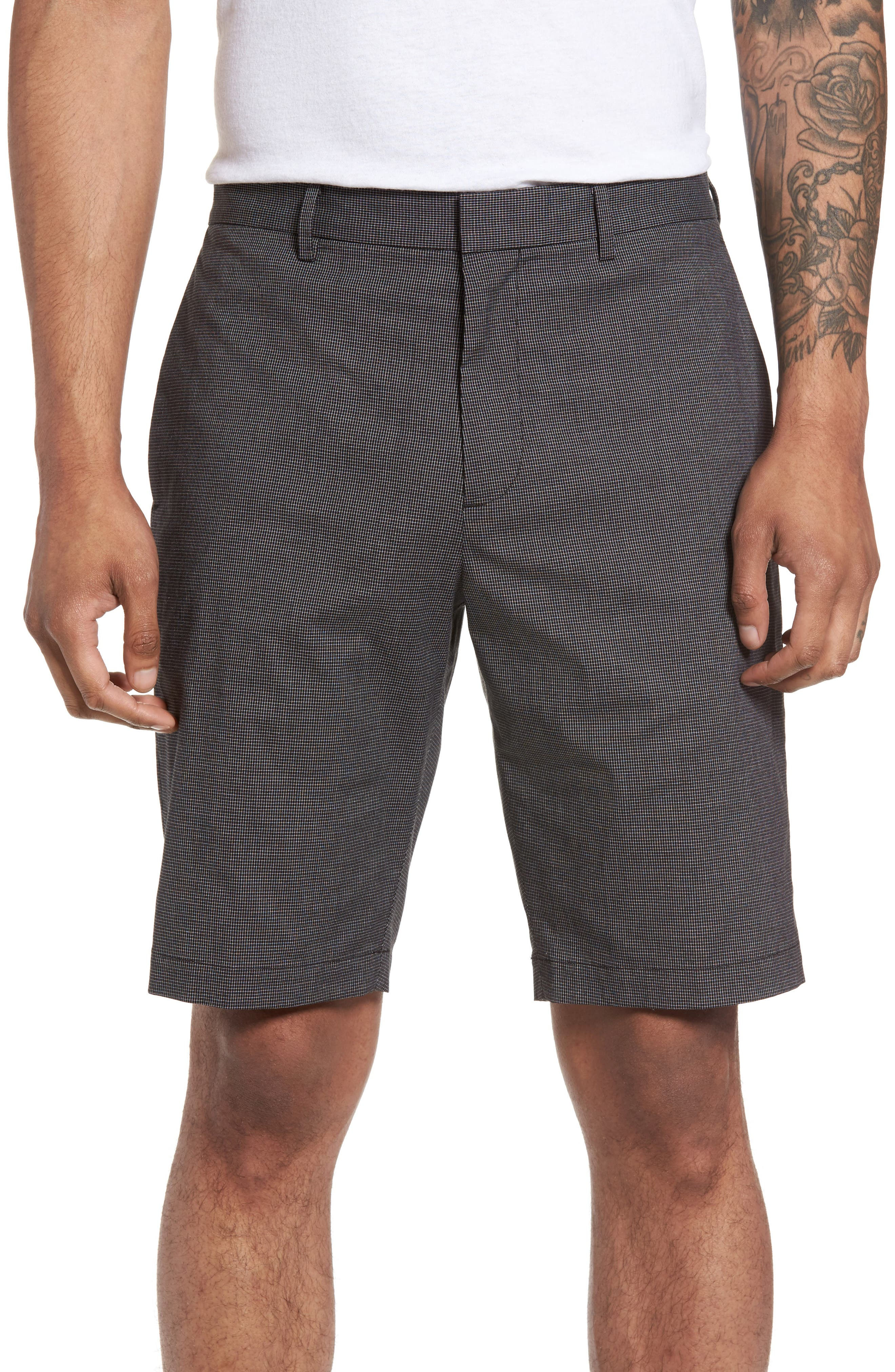 Theory Beck SW Grid Weave Shorts