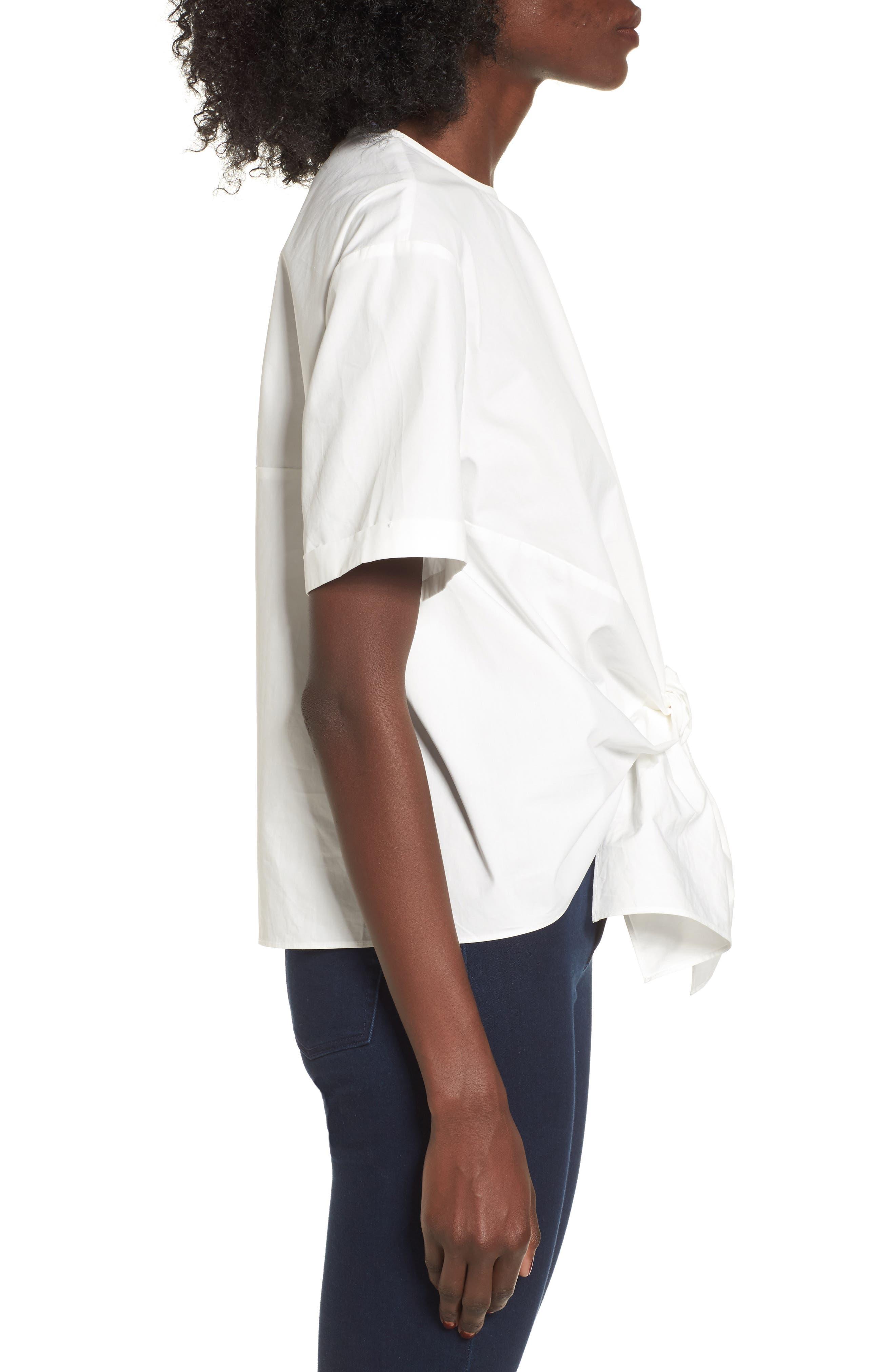 Alternate Image 4  - BP. Tie Front Blouse
