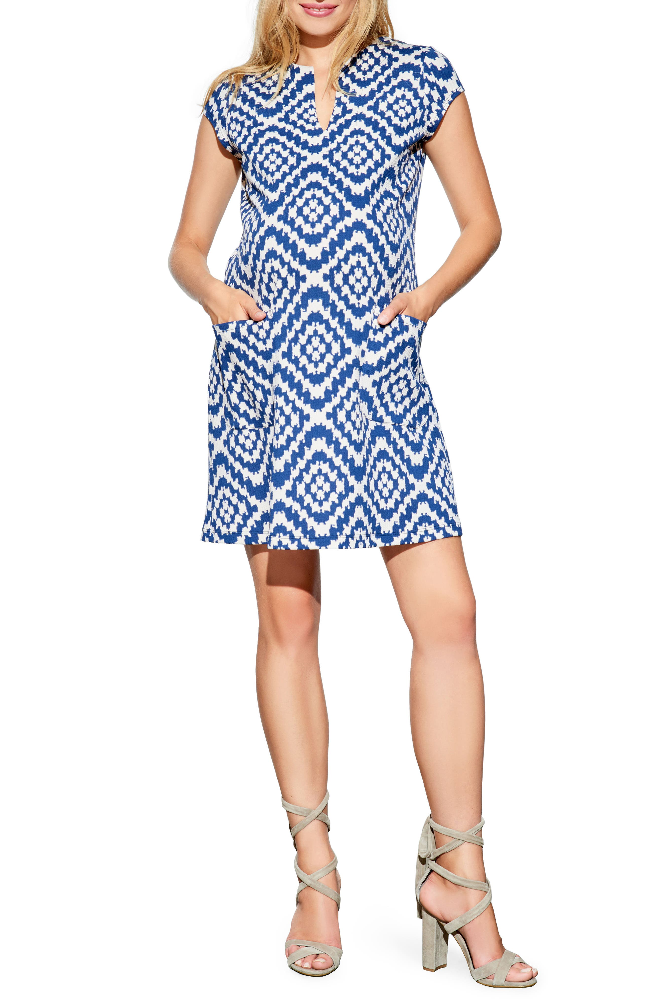 Maternal America Shift Maternity Dress