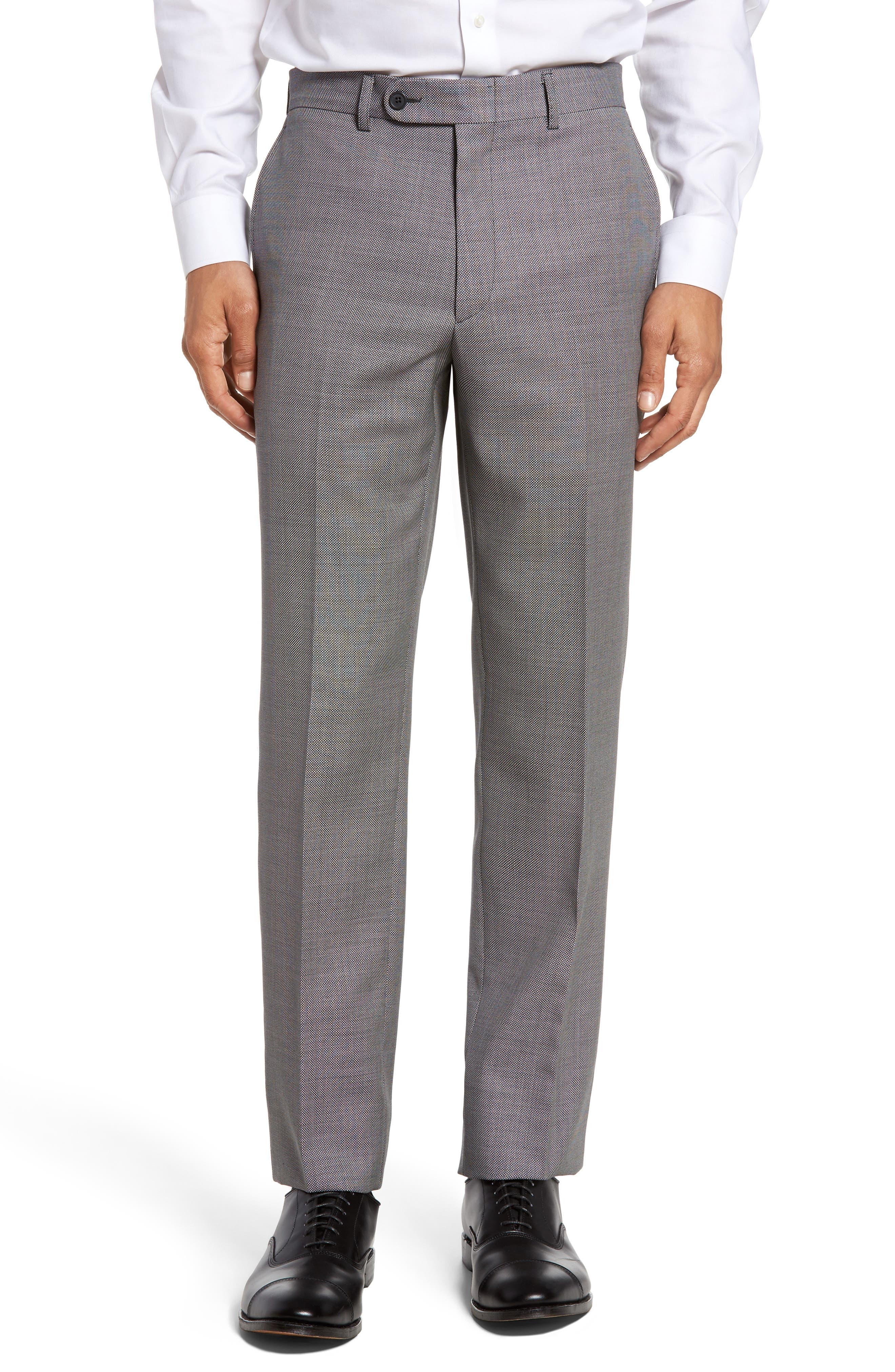 Bensol Tic Wool Trousers