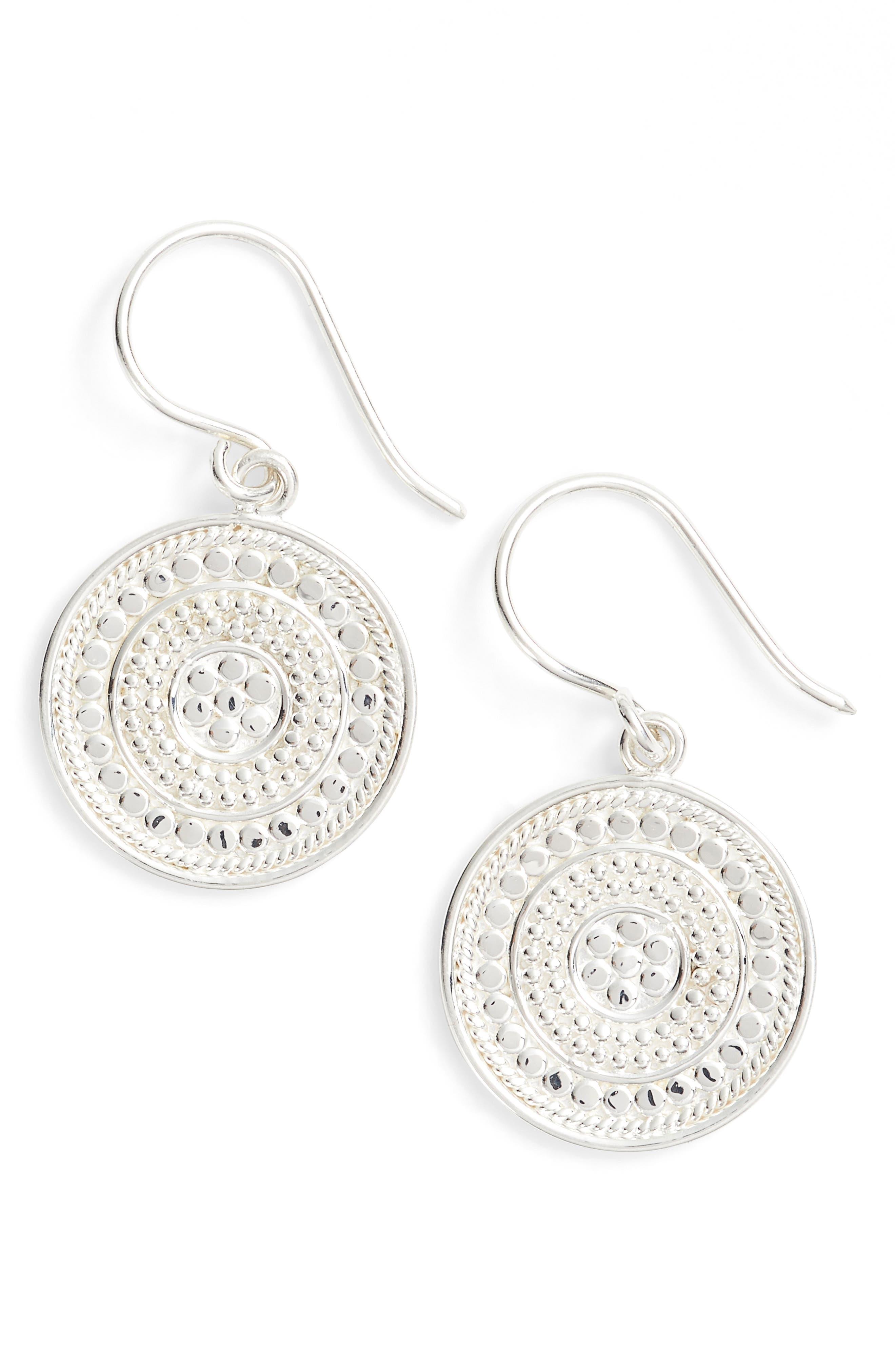 Anna Beck Circle Drop Earrings