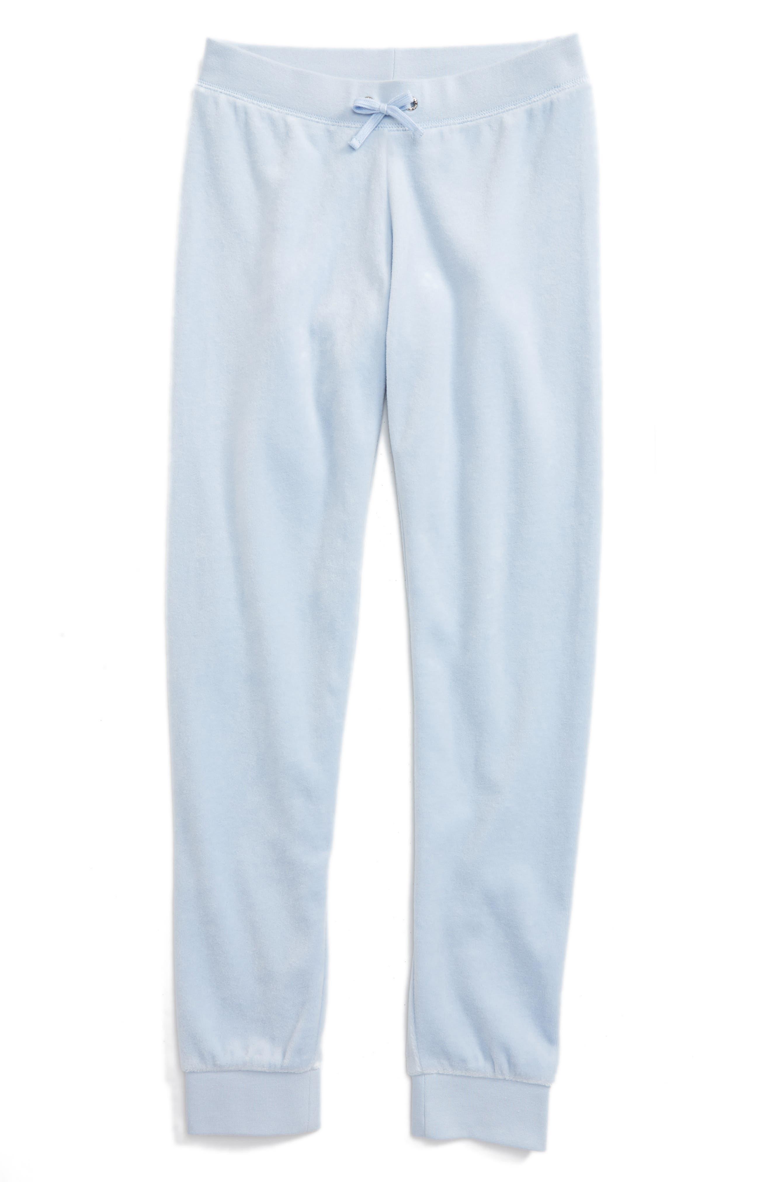 Juicy Couture Zuma Velour Pants (Big Girls)
