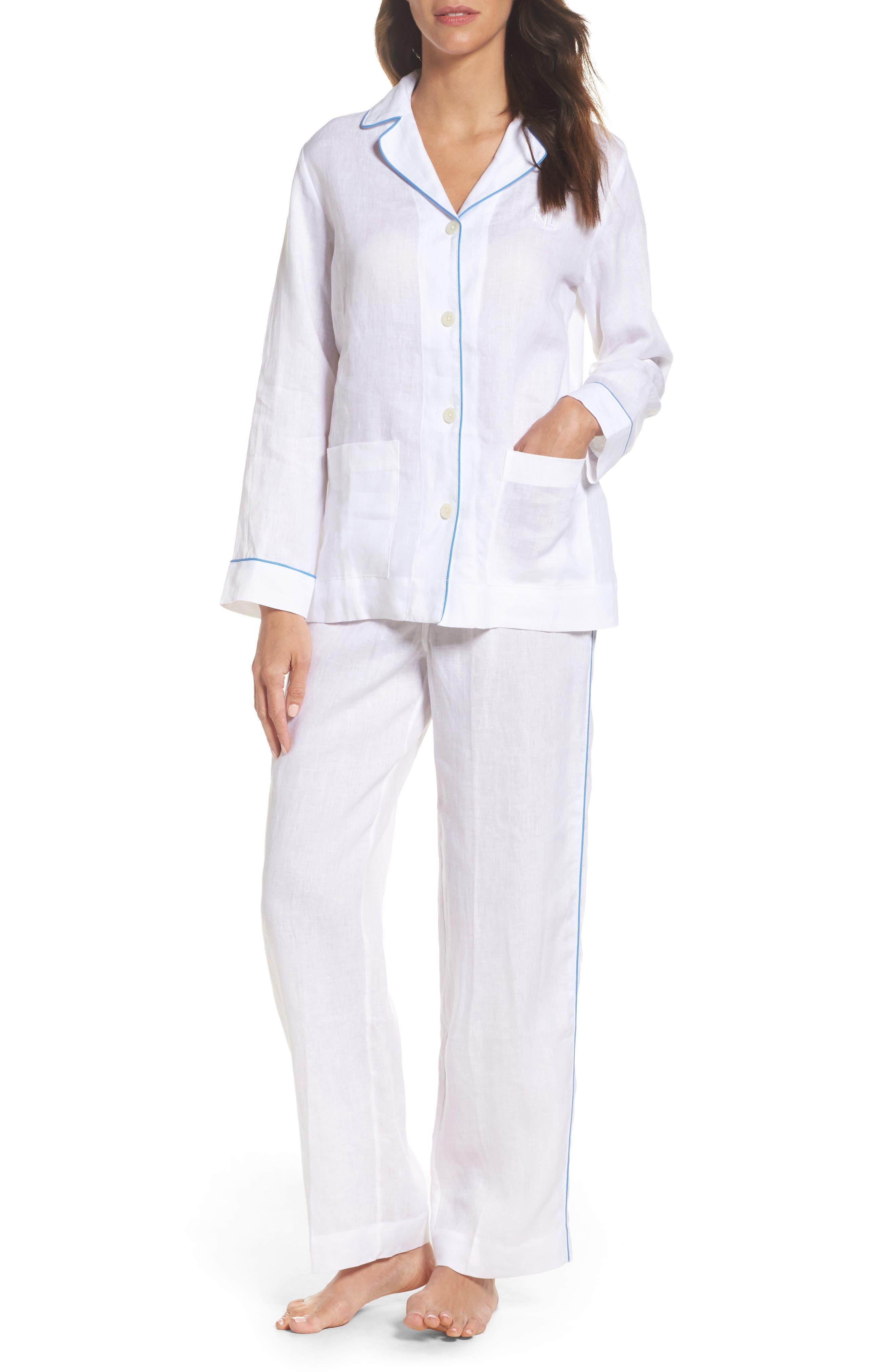Lauren Ralph Lauren Linen Pajamas