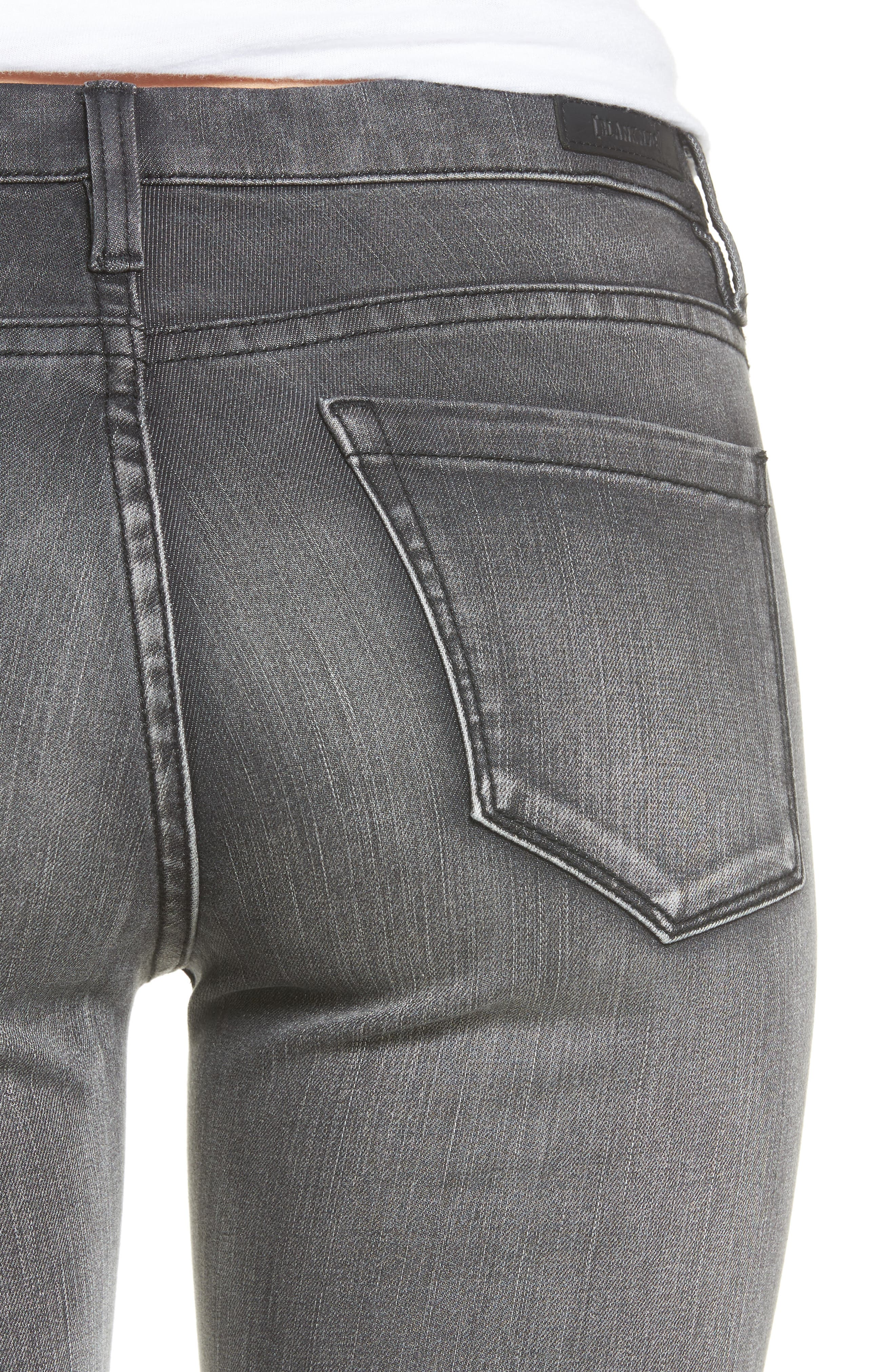 Alternate Image 4  - BLANKNYC Skinny Jeans (Black Metal Dahlia)