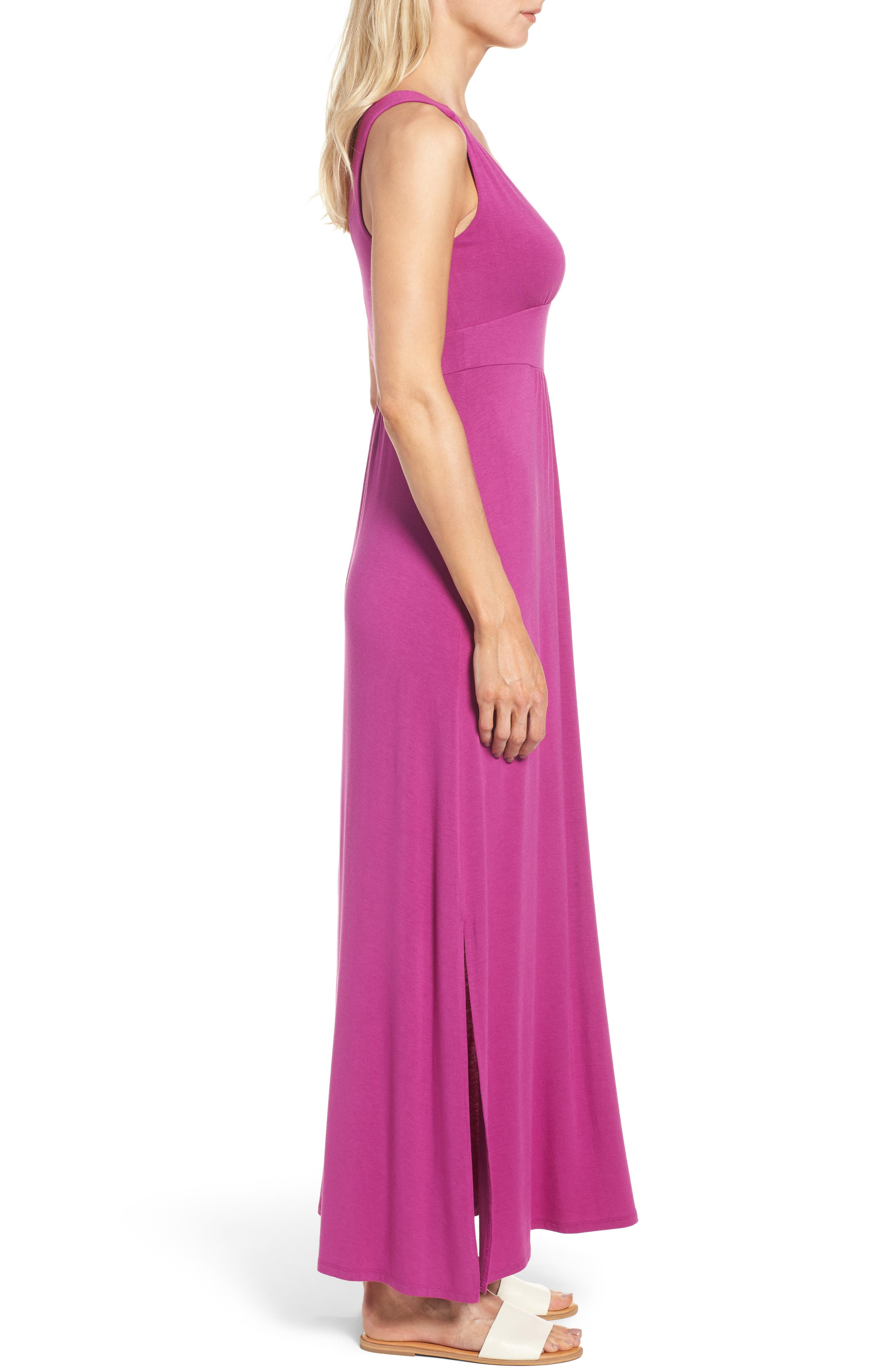 Alternate Image 3  - Caslon® Knit Maxi Dress (Regular & Petite)