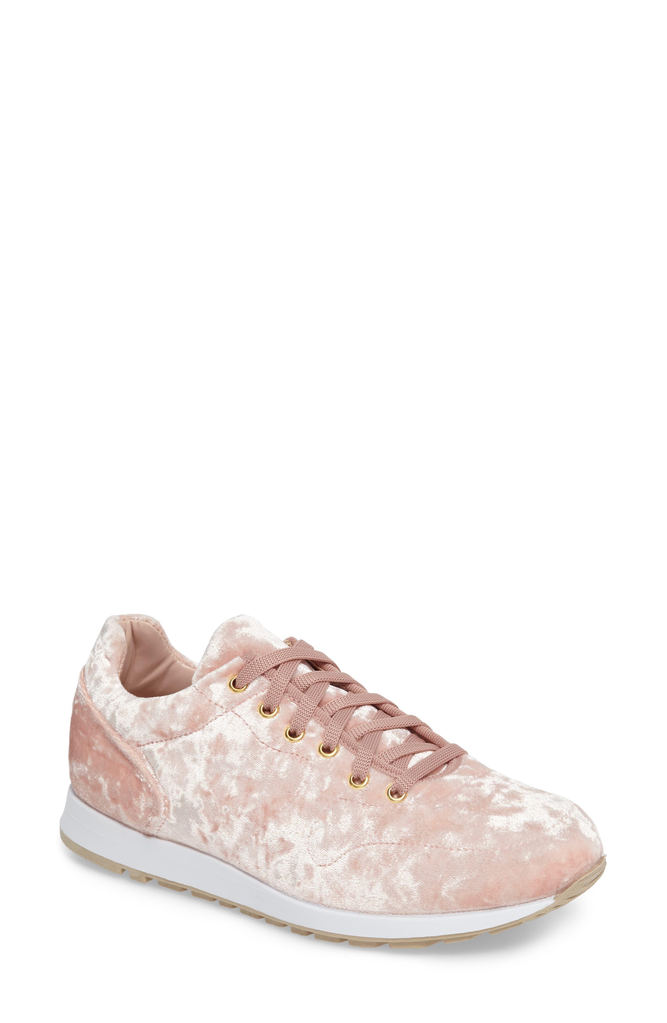 Topshop Croatia Velvet Sneaker (Women)