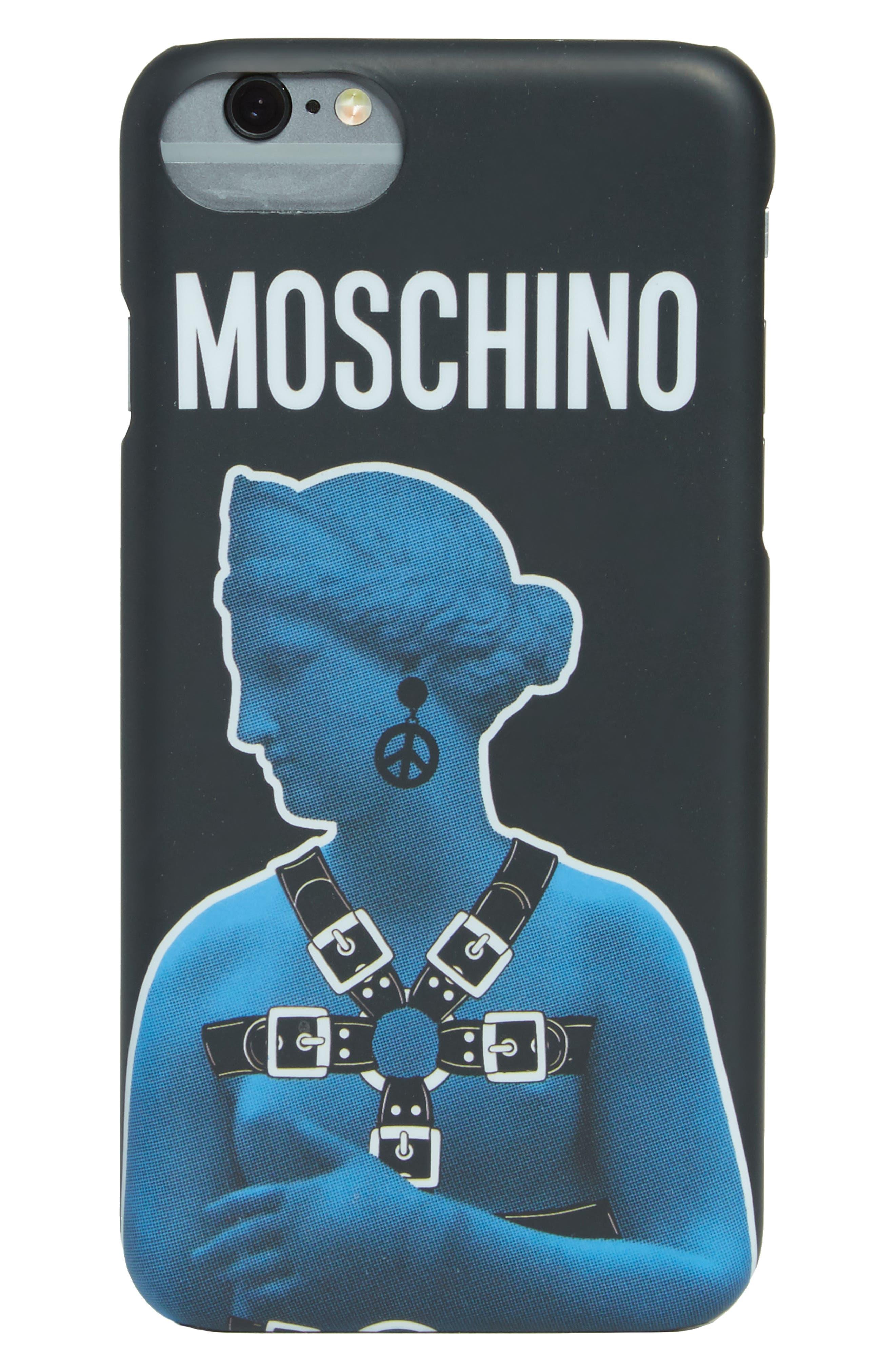 Moschino Statue Graphic iPhone 7 Plus Case