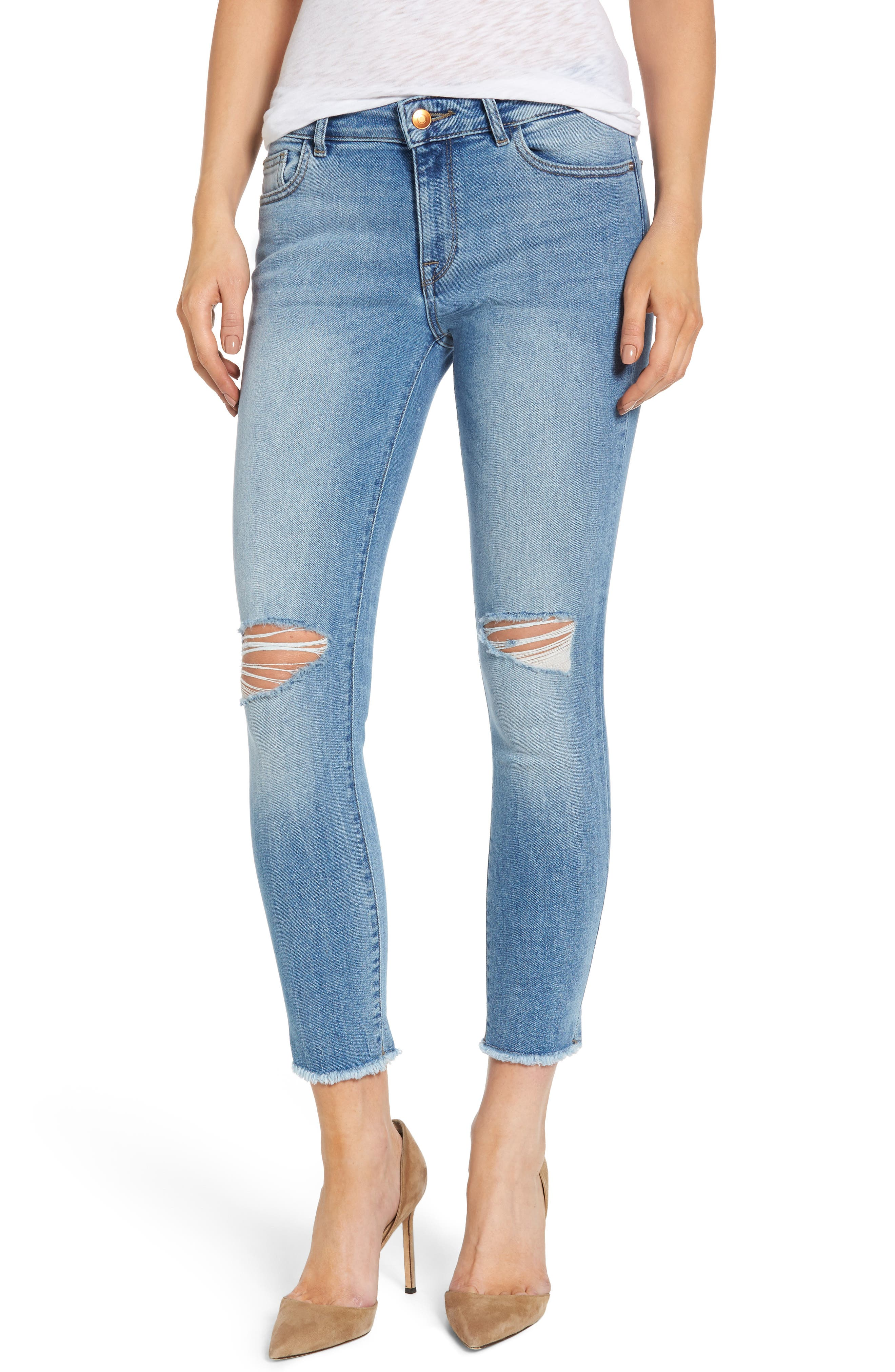 DL1961 Florence Instasculpt Skinny Jeans (Carry-On)
