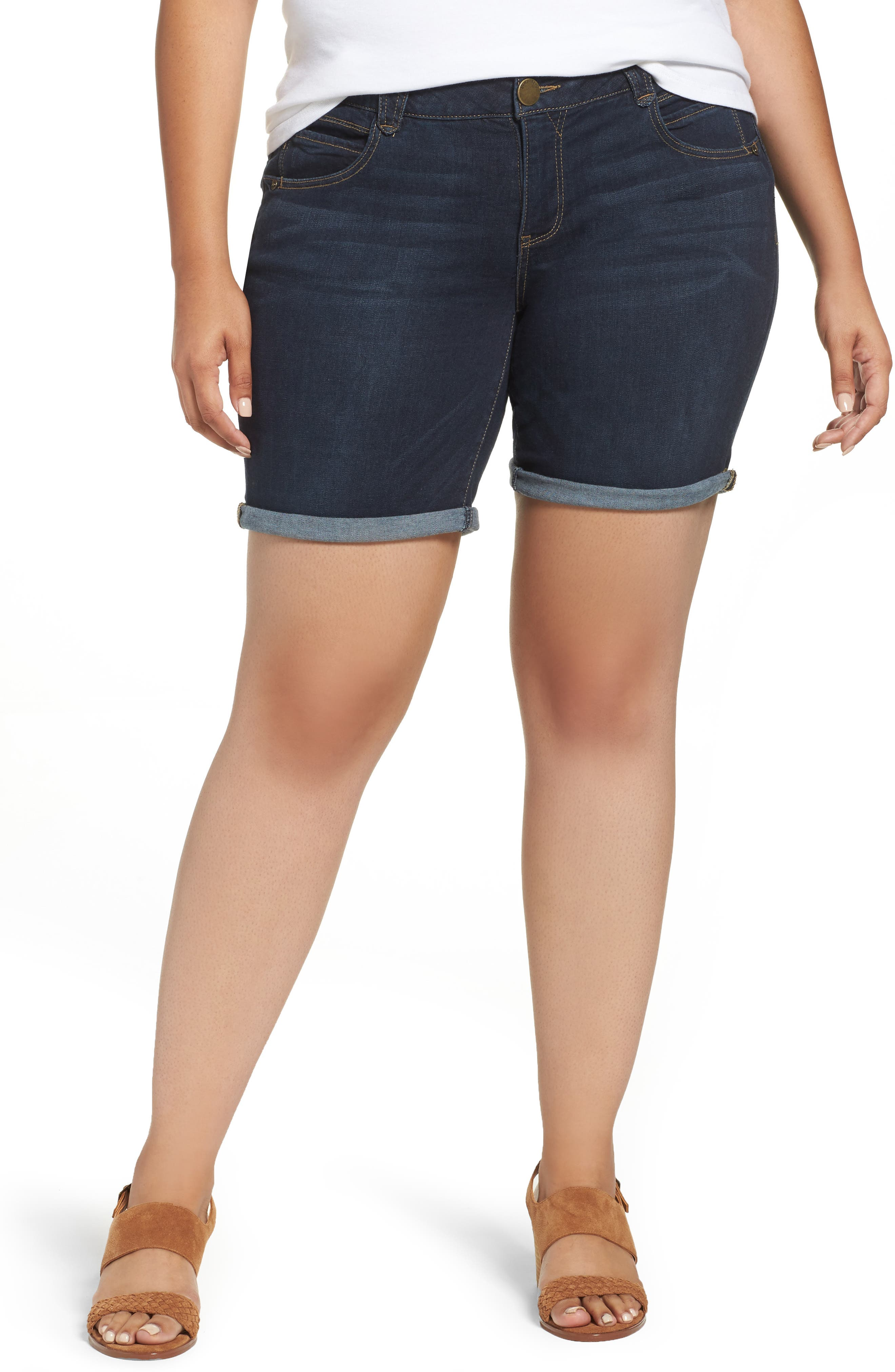 Democracy Ab-Solution Denim Shorts (Plus Size)